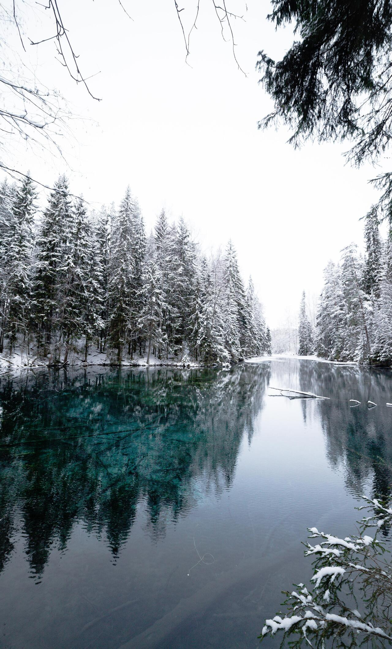 1280x2120 Winter Cold Lake Iphone 6 Hd 4k Wallpapers Images Backgrounds Photos And Pictures