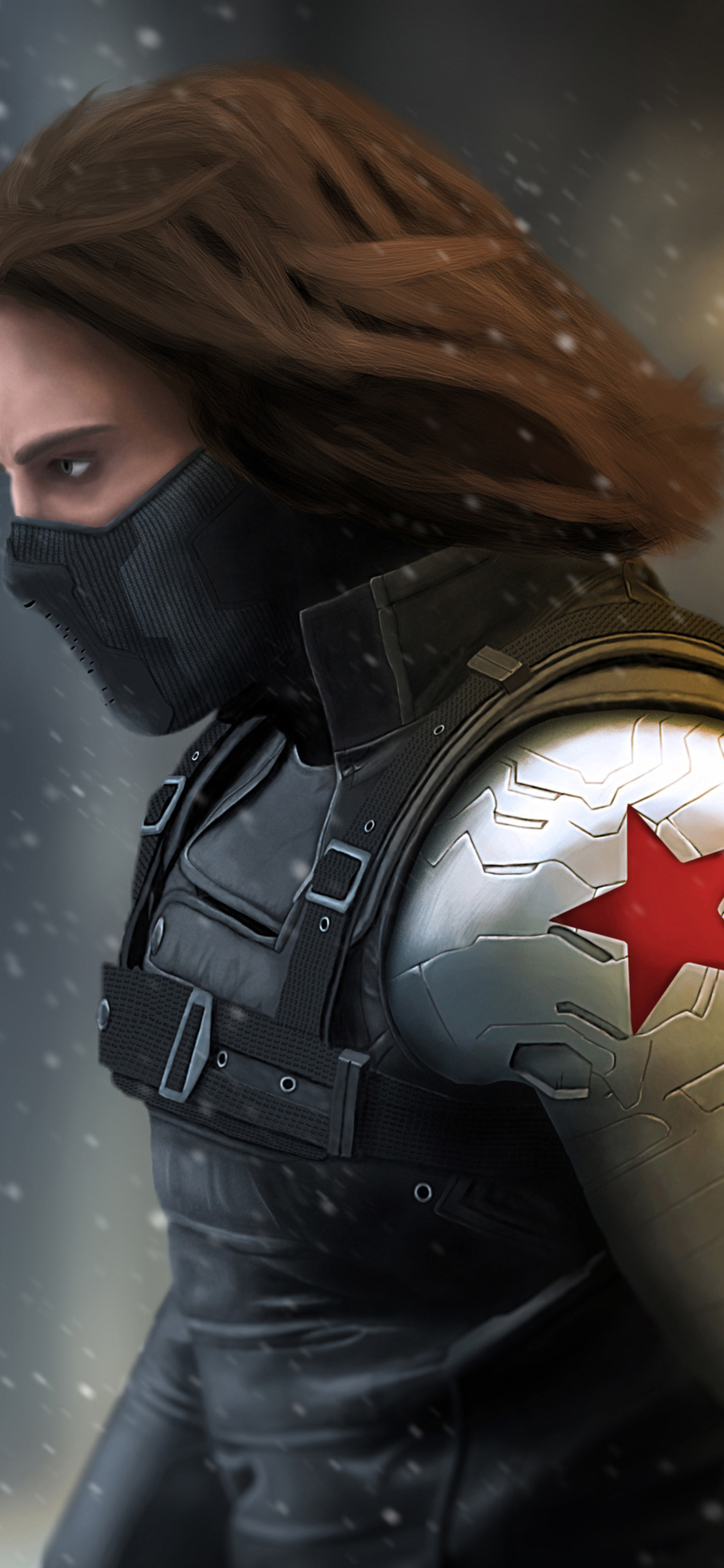 1125x2436 Winter Soldier 4k Iphone XS,Iphone 10,Iphone X HD