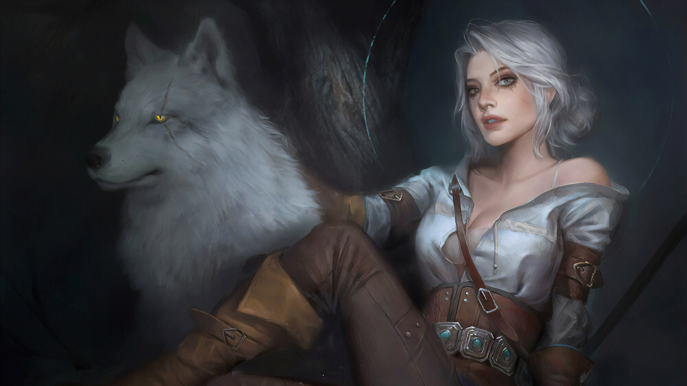 1366x768 Witcher 3 Ciri Art 1366x768 Resolution Hd 4k Wallpapers