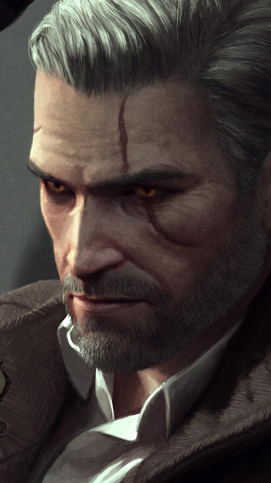 540x960 Witcher 3 Geralt Of Rivia 540x960 Resolution Hd 4k