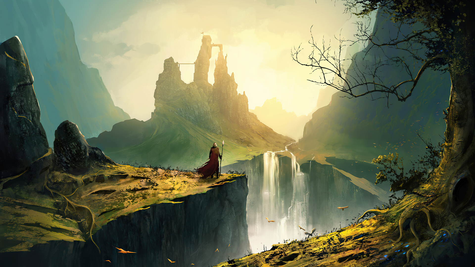 1920x1080 Wizard Kingdom 4k Laptop Full Hd 1080p Hd 4k Wallpapers Images Backgrounds Photos And Pictures