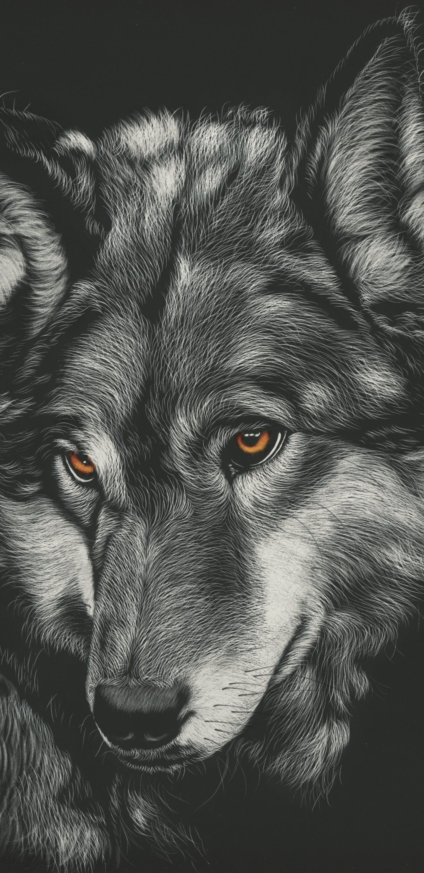 1440x2960 Wolf Painting 4k Samsung Galaxy Note 9 8 S9 S8 S8 Qhd Hd