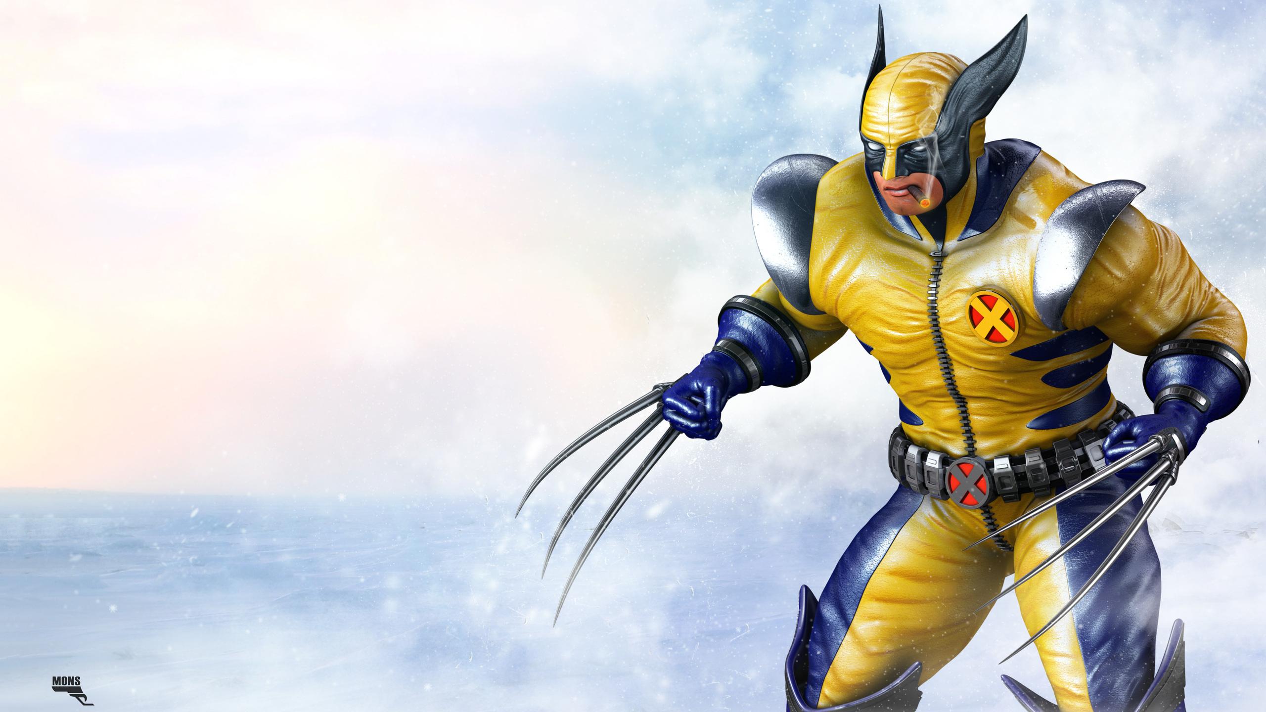 2560x1440 Wolverine 3d Cgi Artwork 1440p Resolution Hd 4k Wallpapers