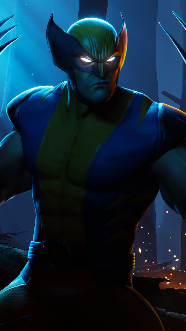 750x1334 Wolverine Fortnite Season 4 Nexus War Iphone 6 Iphone 6s Iphone 7 Hd 4k Wallpapers Images Backgrounds Photos And Pictures