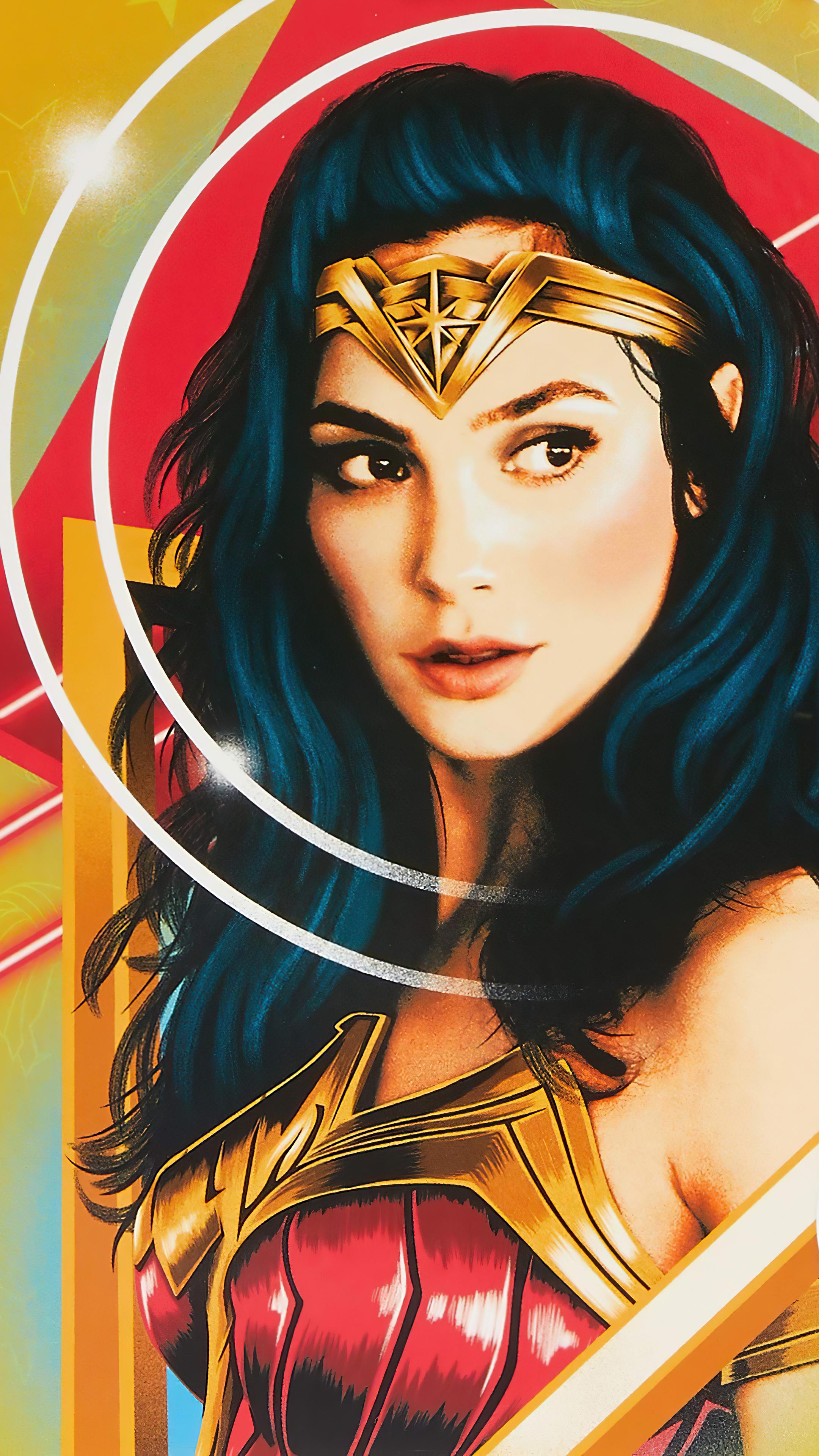 2160x3840 Wonder Woman 1984 New Poster Art Sony Xperia X ...