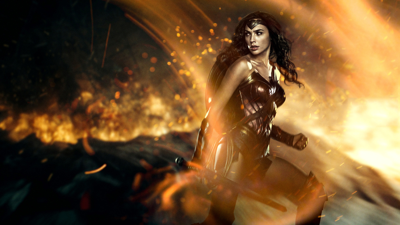 2017 Wonder Woman Wallpapers: 1366x768 Wonder Woman 2 1366x768 Resolution HD 4k