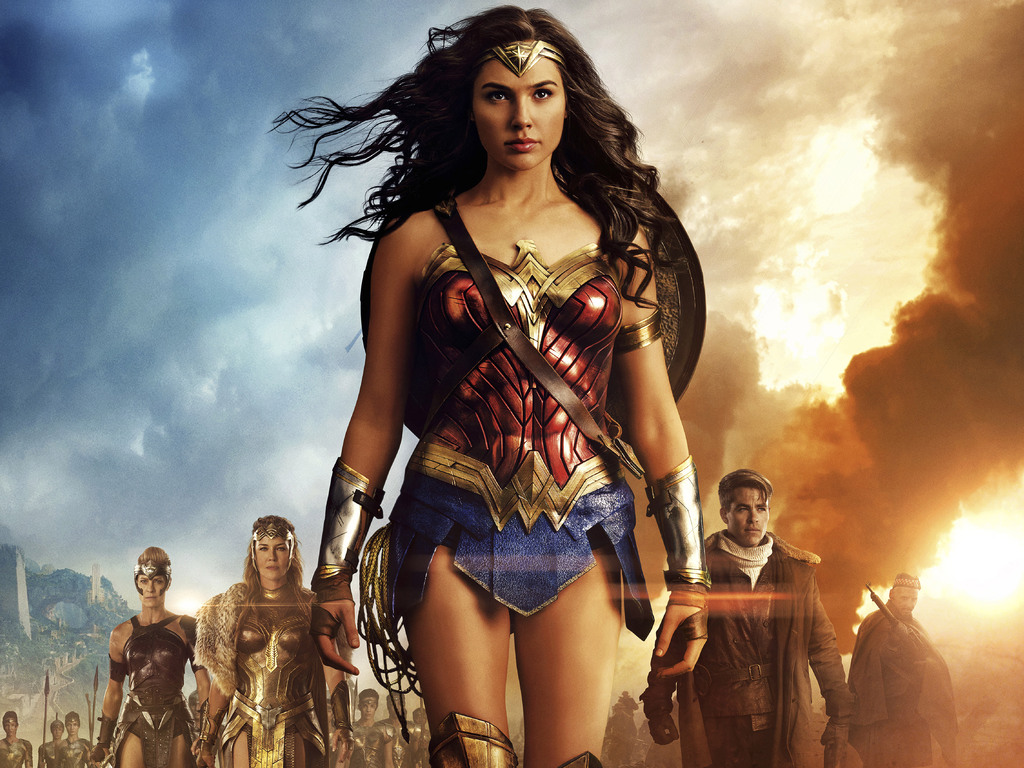 2017 Wonder Woman Gal Gadot Wallpapers: 1024x768 Wonder Woman 5k 2017 Movie 1024x768 Resolution HD