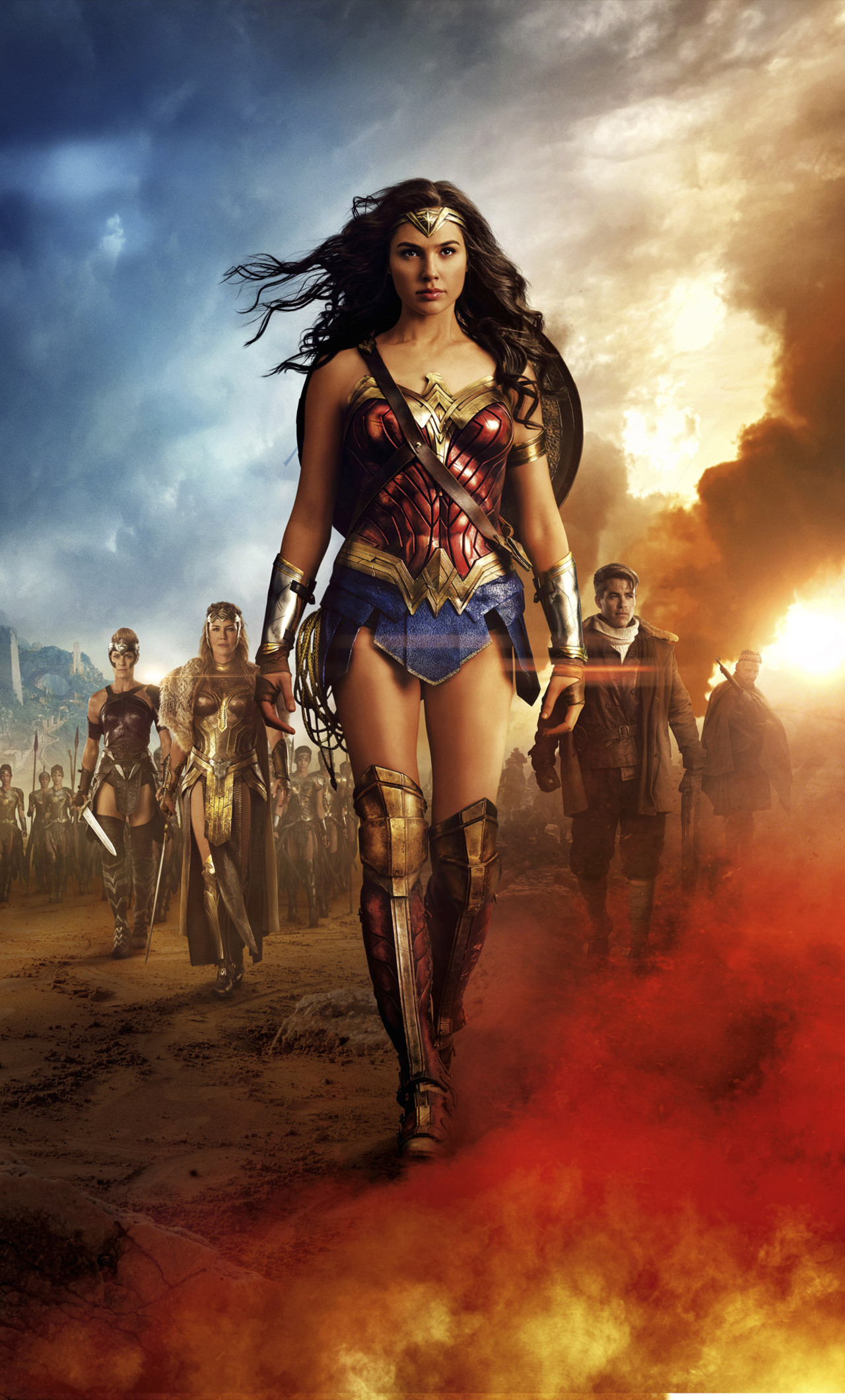 Wonder Woman 5k 2017 Movie Dx