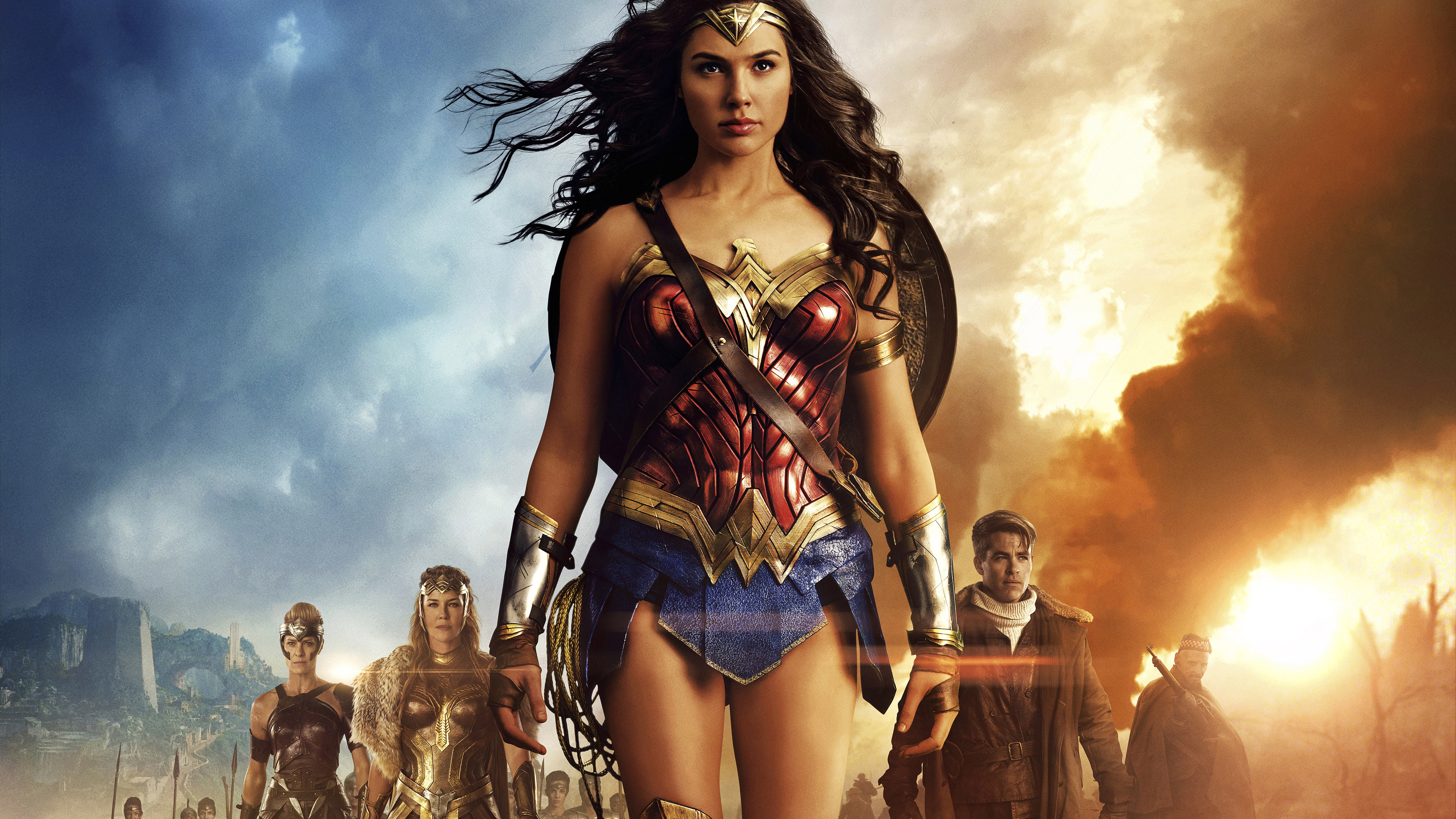 Wonder 2017 4k Movie Hd Movies 4k Wallpapers Images: 3840x2160 Wonder Woman 5k 2017 Movie 4k HD 4k Wallpapers