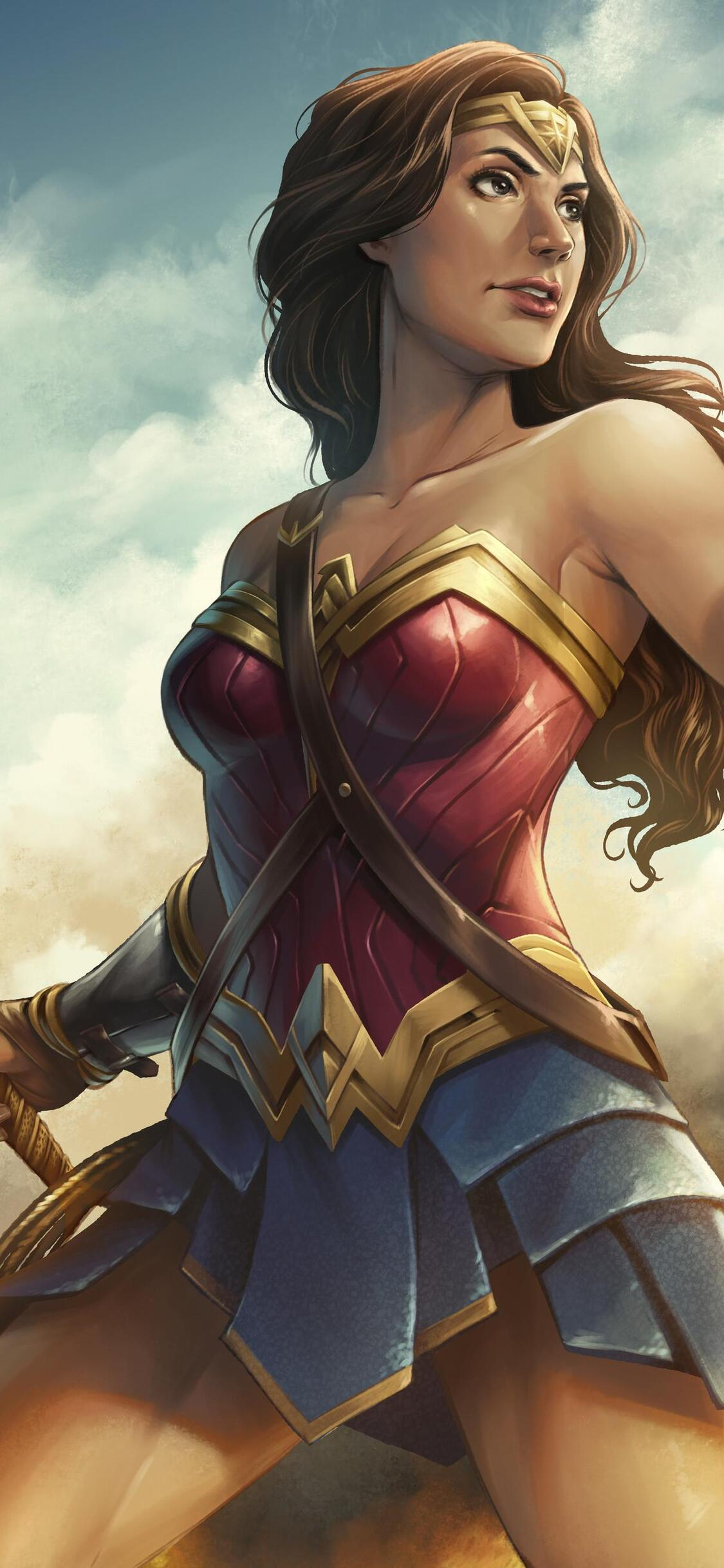 Wonder Woman Artwork Hd Ky