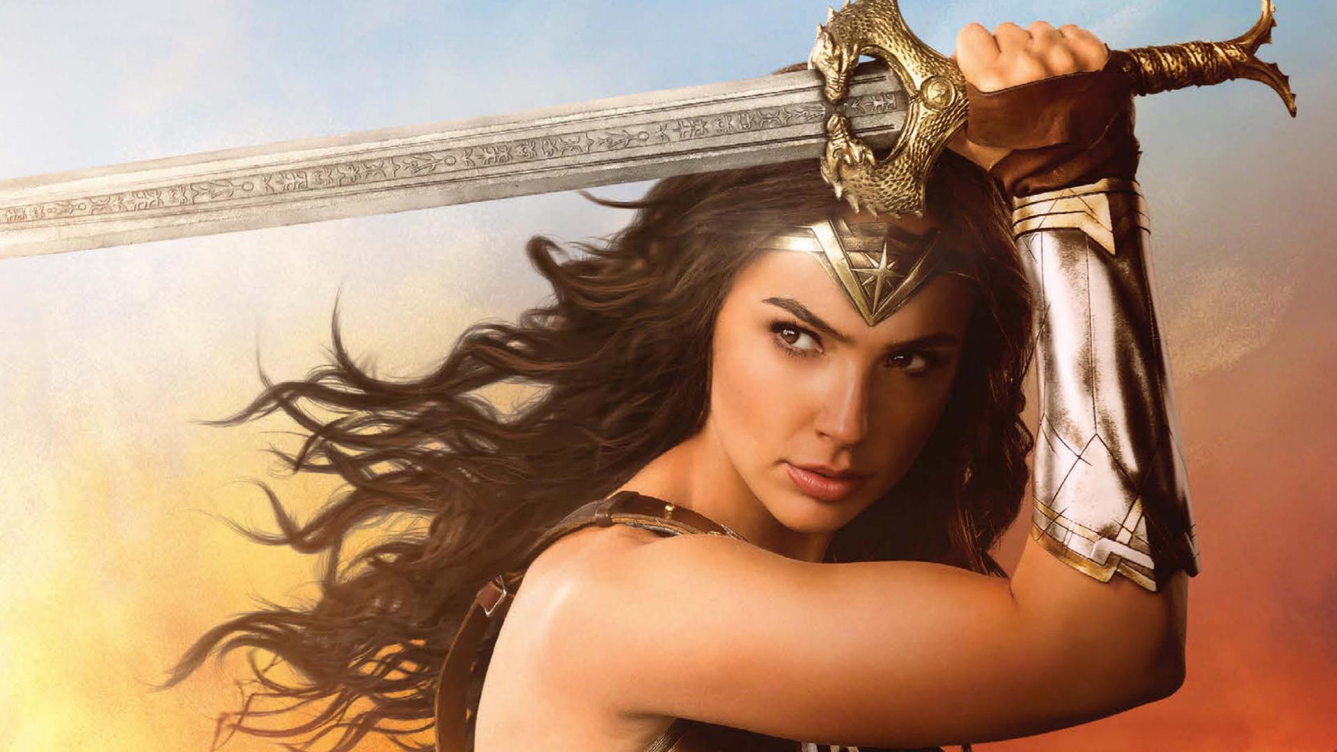 Wallpaper Gal Gadot Wonder Woman 2017 Movies Hd Movies: 1920x1080 Wonder Woman Cover Laptop Full HD 1080P HD 4k