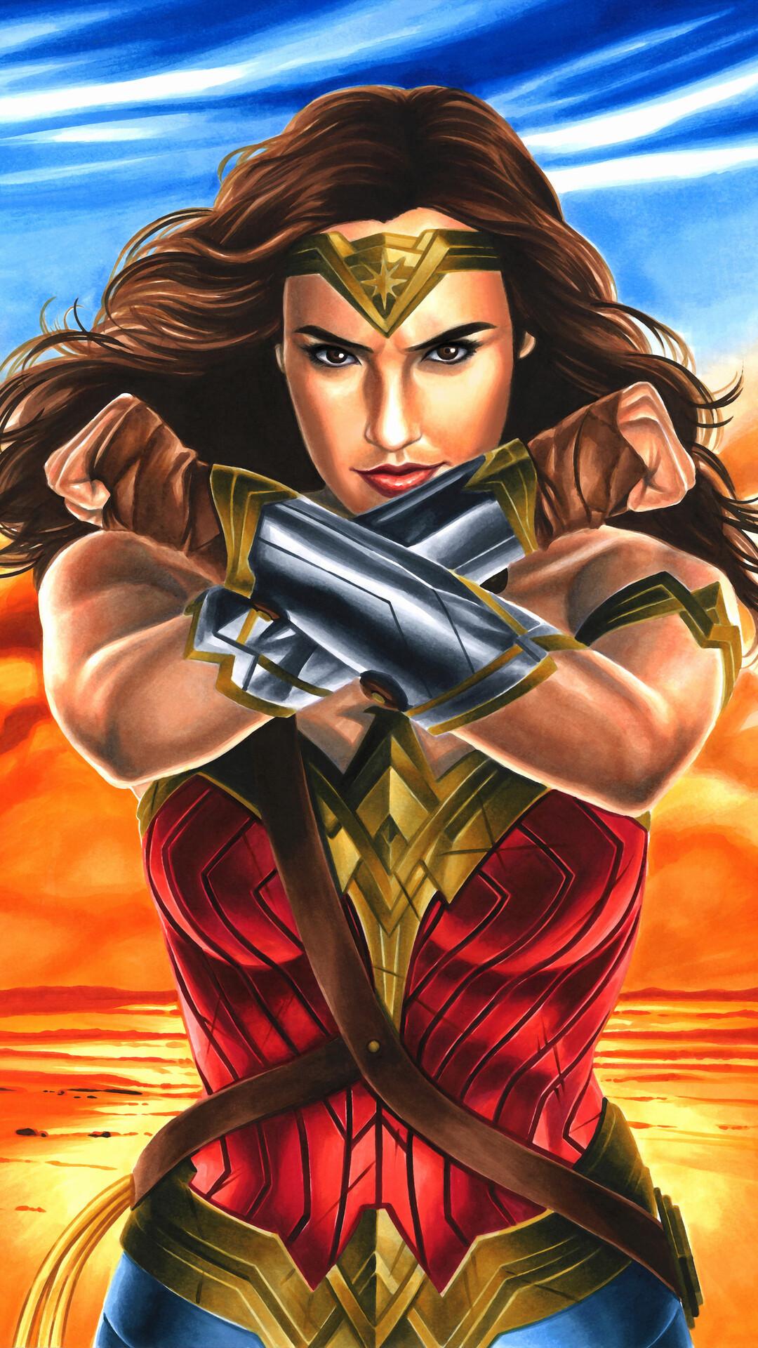 Wonder Woman Fanart 2017 Pq