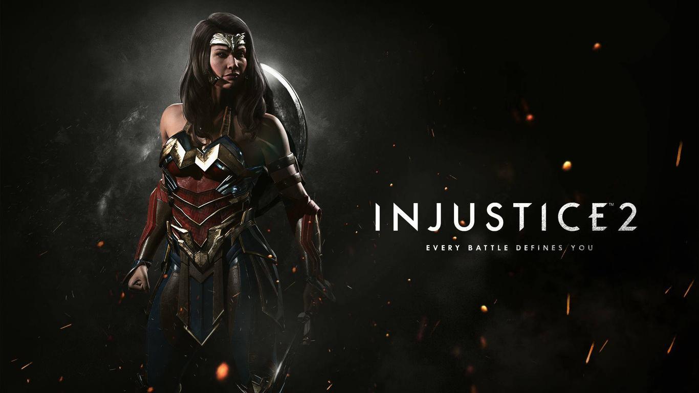 1366x768 Wonder Woman In Injustice 2 1366x768 Resolution ...