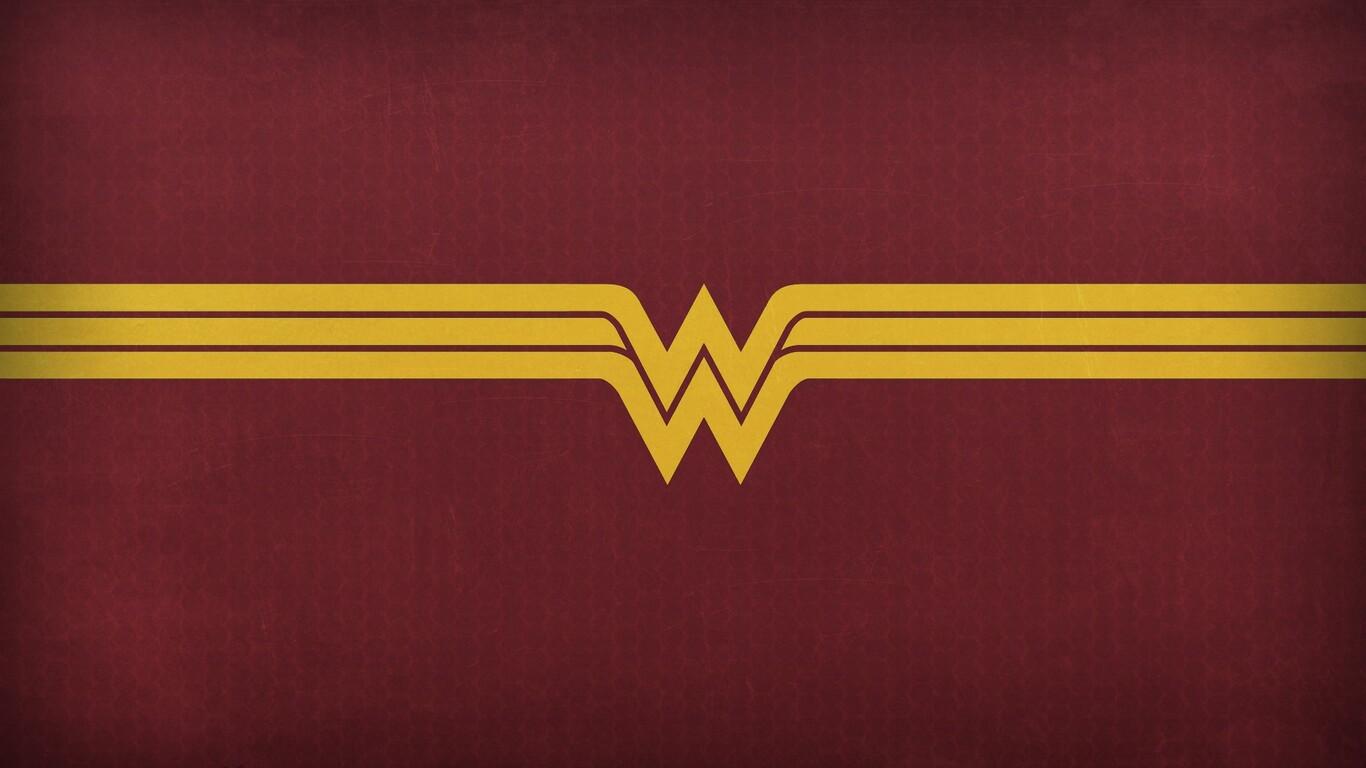 Wonder Woman Logo Wallpaper 61 Images: 1366x768 Wonder Woman Logo 2 1366x768 Resolution HD 4k