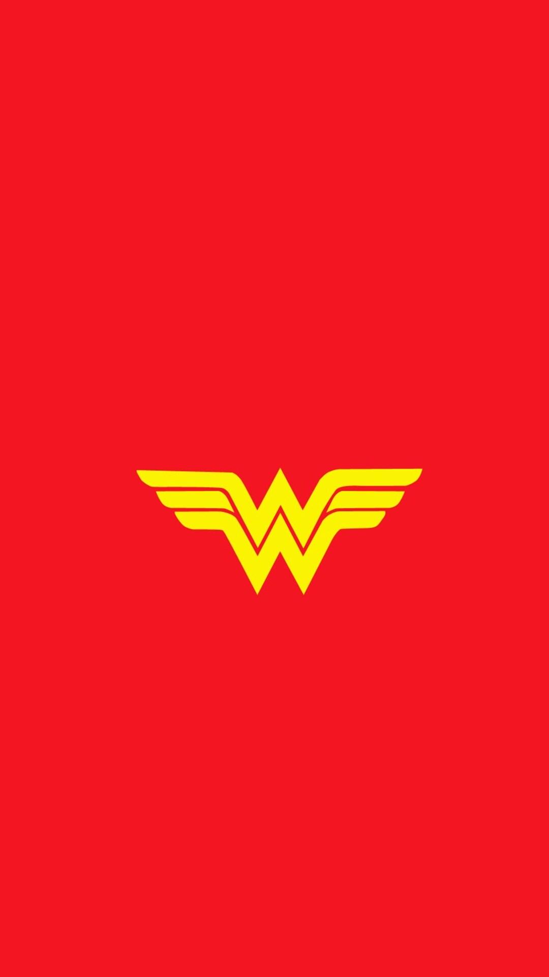 1080x1920 Wonder Woman Logo Iphone 7 6s 6 Plus Pixel Xl One Plus 3