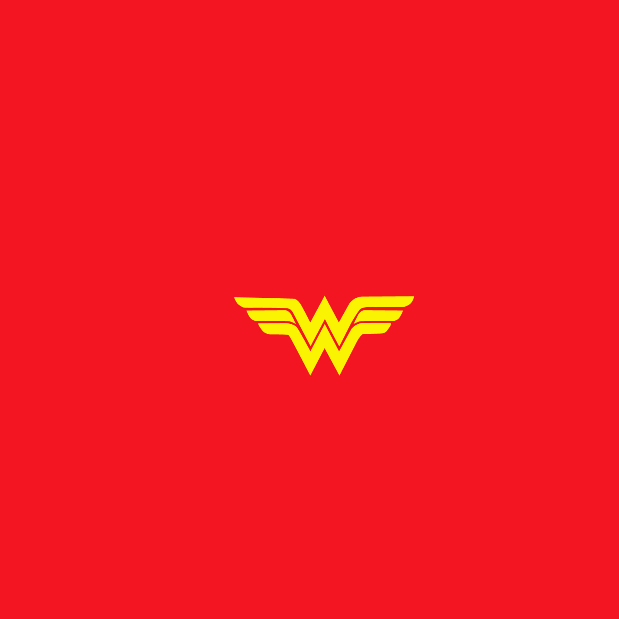 2048x2048 Wonder Woman Logo Ipad Air HD 4k Wallpapers