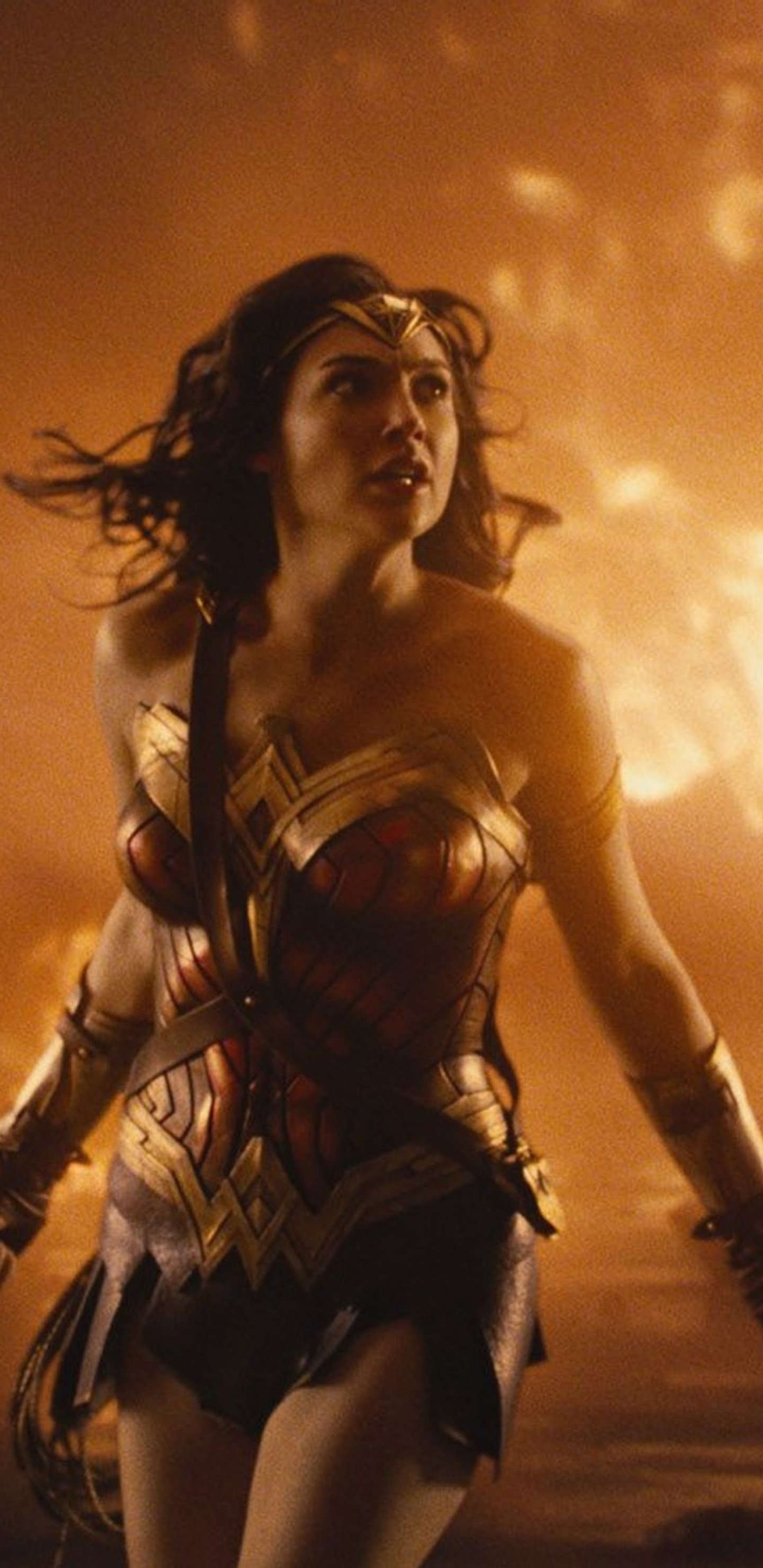 1440x2960 Wonder Woman Surronded By Fire Samsung Galaxy Note 9 8