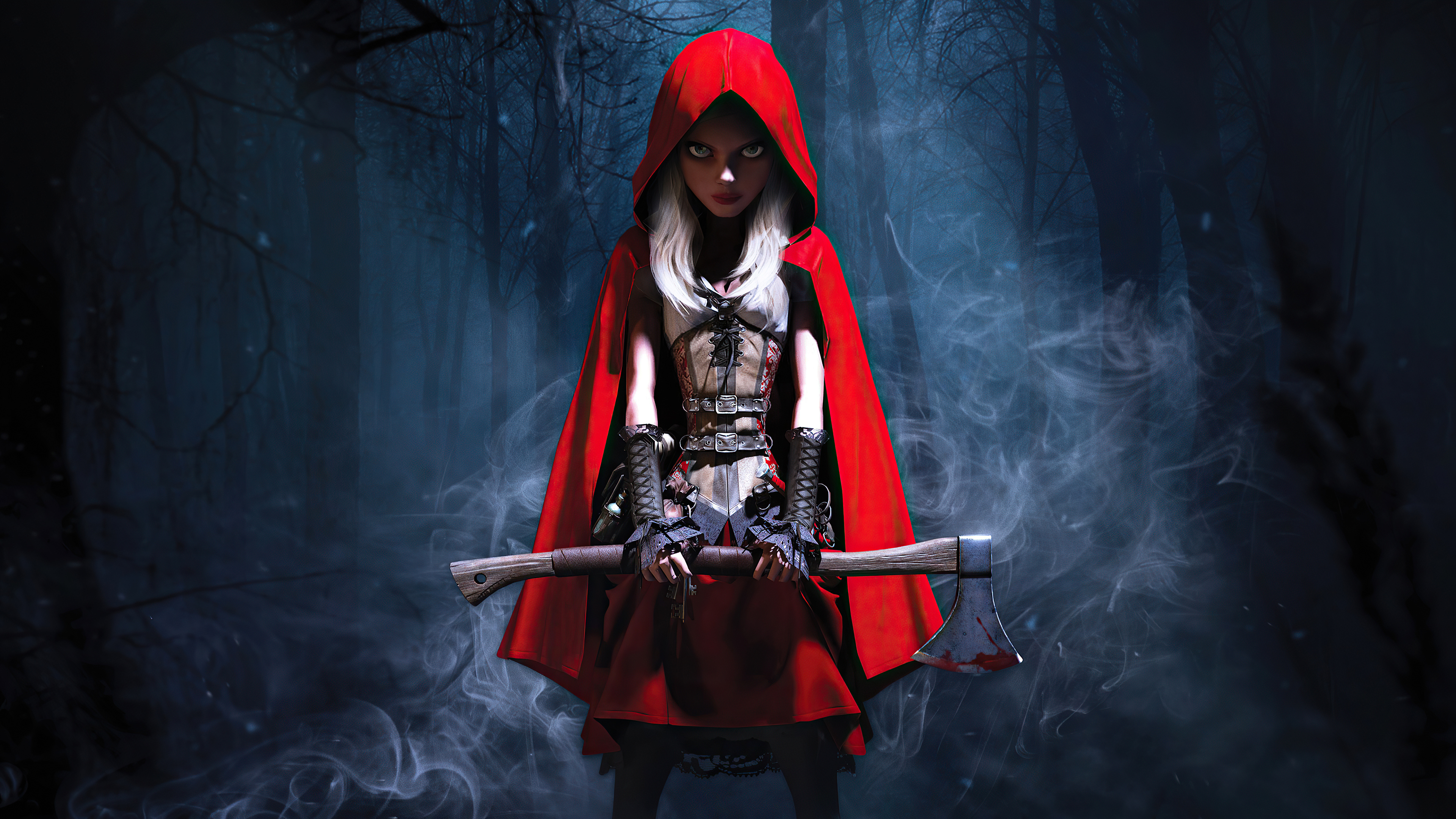 3840x2160 Woolfe The Red Hood Diaries 4k HD 4k Wallpapers ...