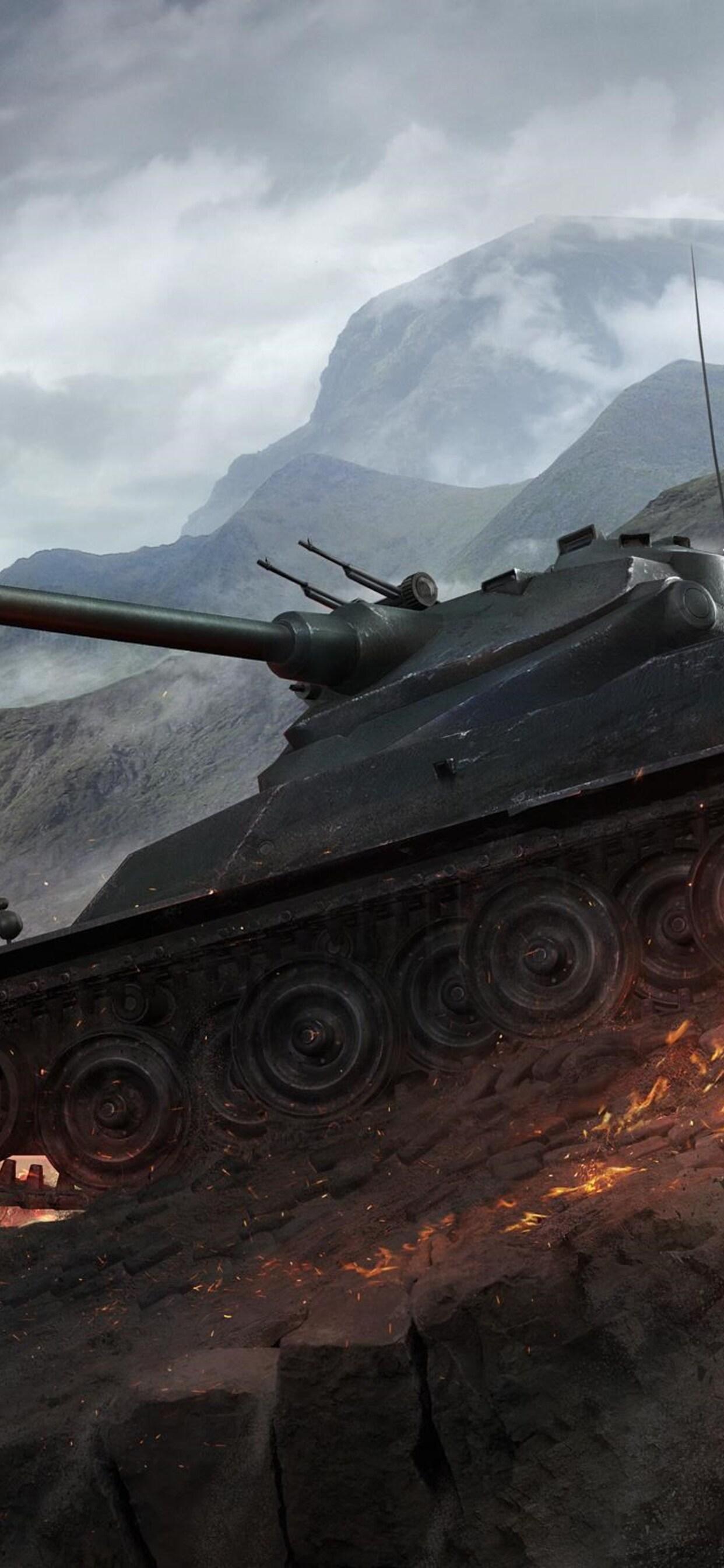 1242x2688 World Of Tanks Amx 50 Iphone Xs Max Hd 4k