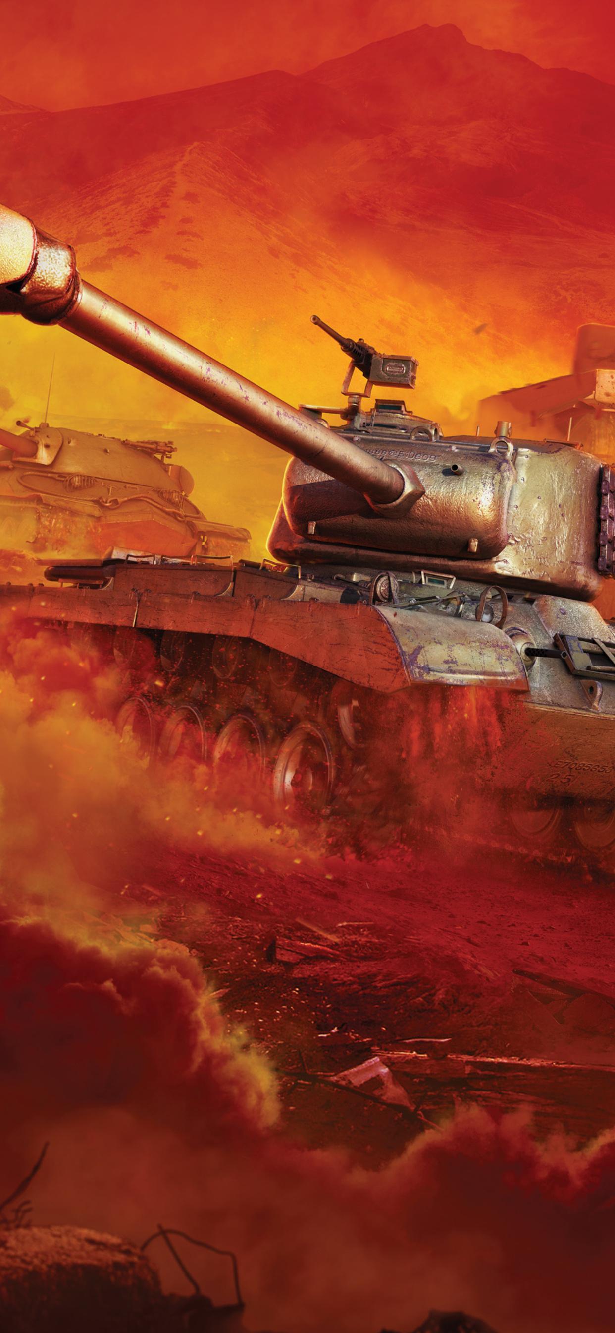 1242x2688 World Of Tanks Game 4k Iphone Xs Max Hd 4k