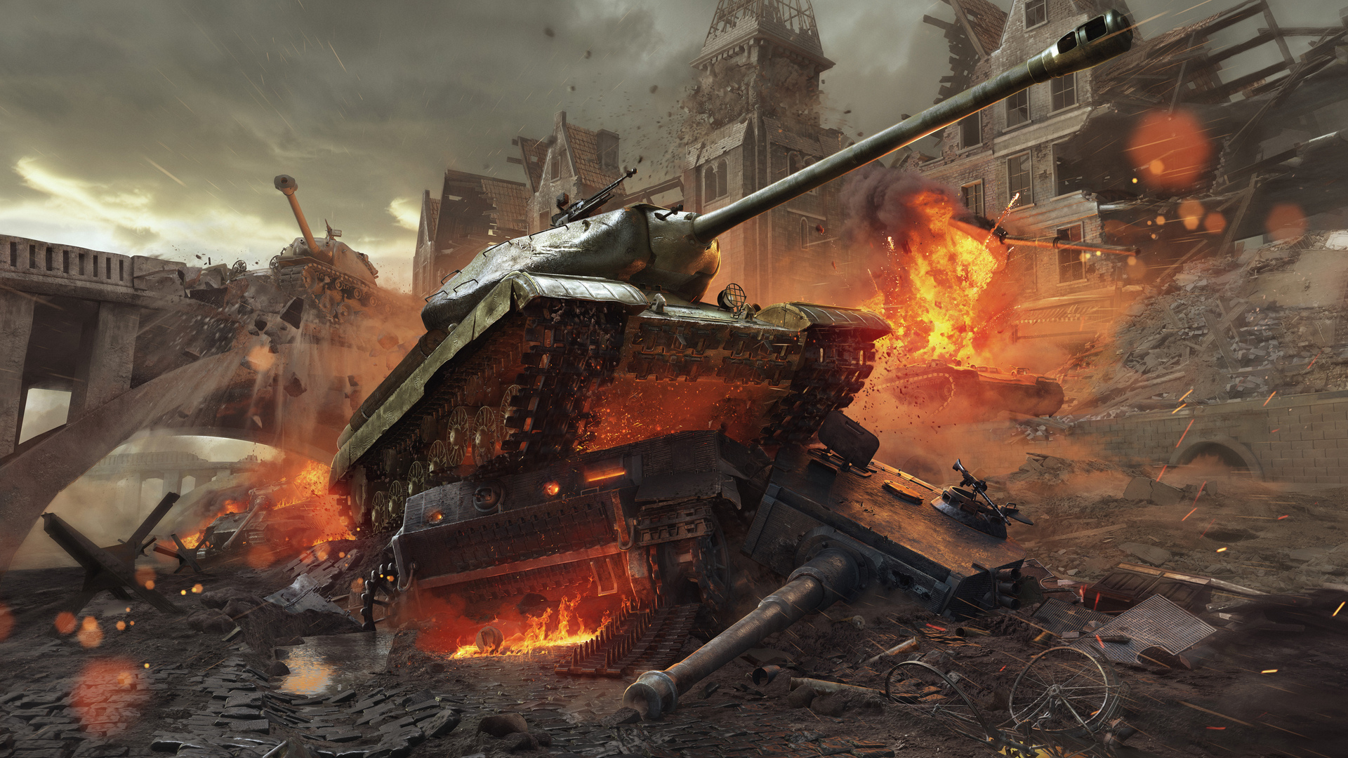 1920x1080 World Of Tanks New Frontiers Laptop Full Hd 1080p Hd 4k