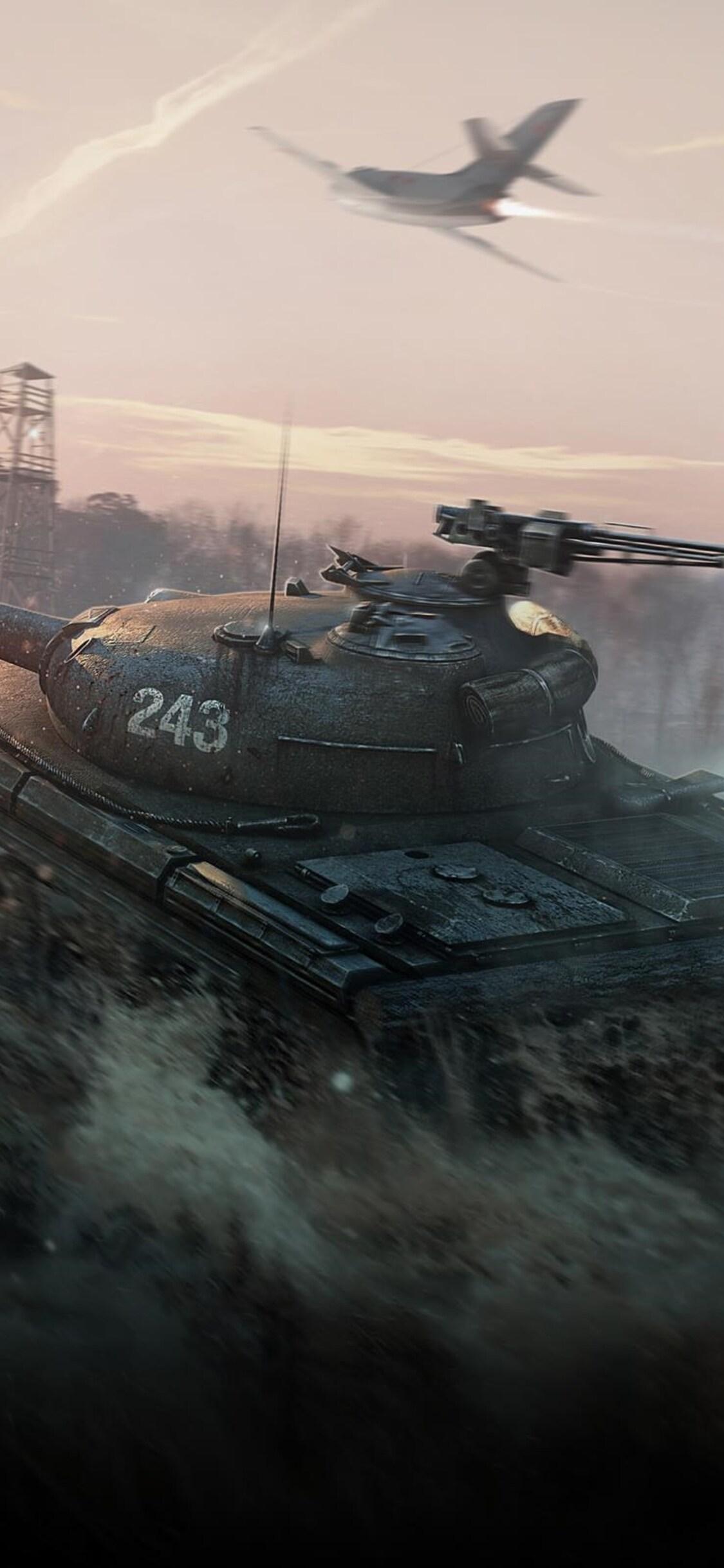 1125x2436 World Of Tanks Obj 430 Iphone Xs Iphone 10 Iphone