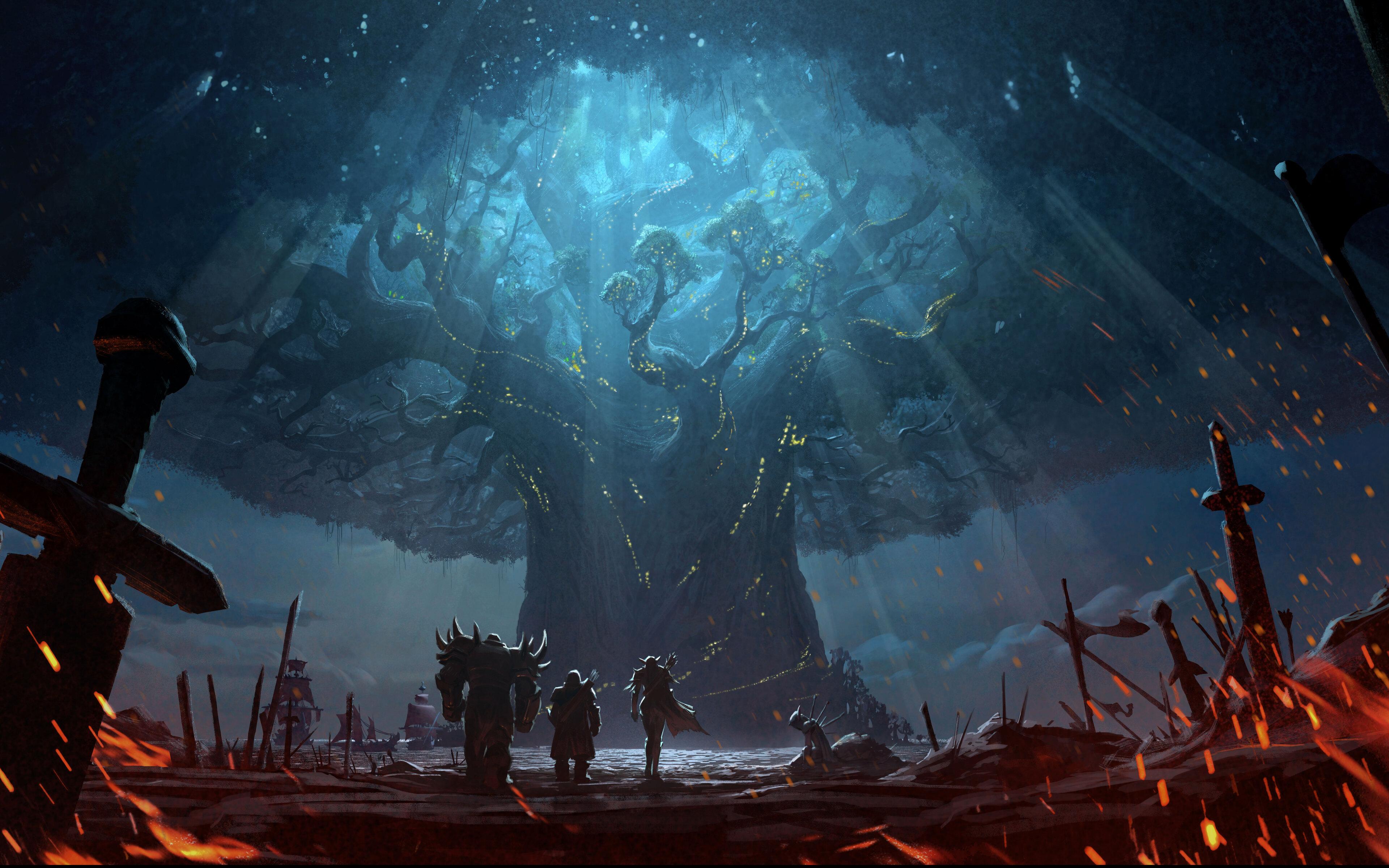 3840x2400 World Of Warcraft Battle For Azeroth 12k 4k HD