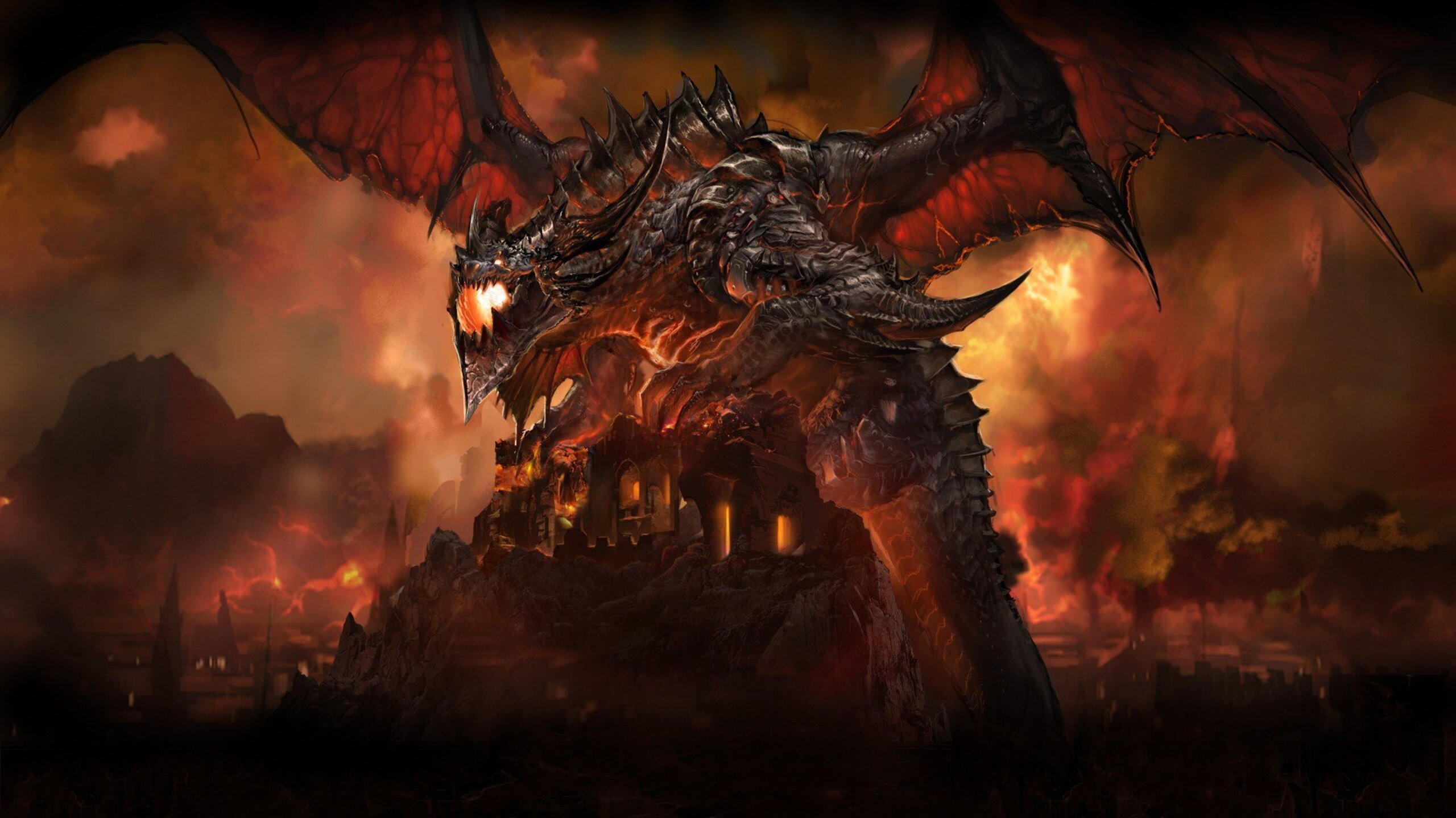2560x1440 World Of Warcraft Dragon 1440P Resolution HD 4k ...