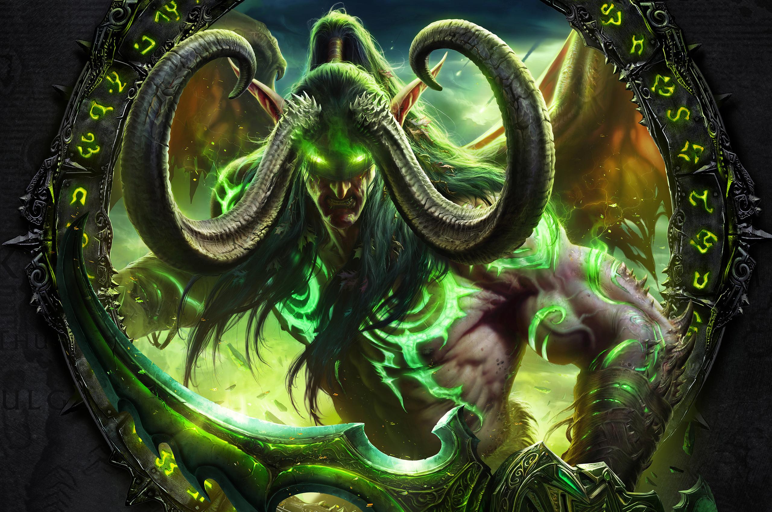 2560x1700 World Of Warcraft Legion 4k Chromebook Pixel Hd 4k