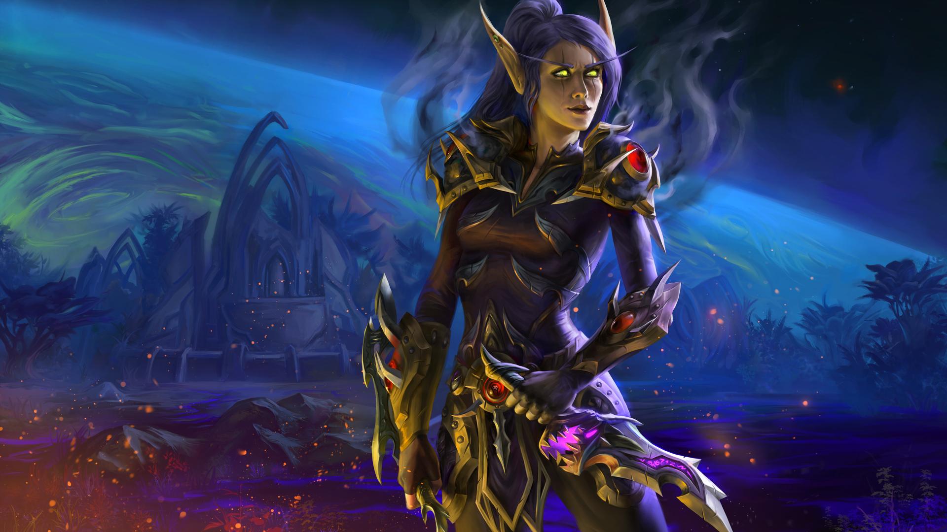 1920x1080 World Of Warcraft Senneria Laptop Full HD 1080P ...