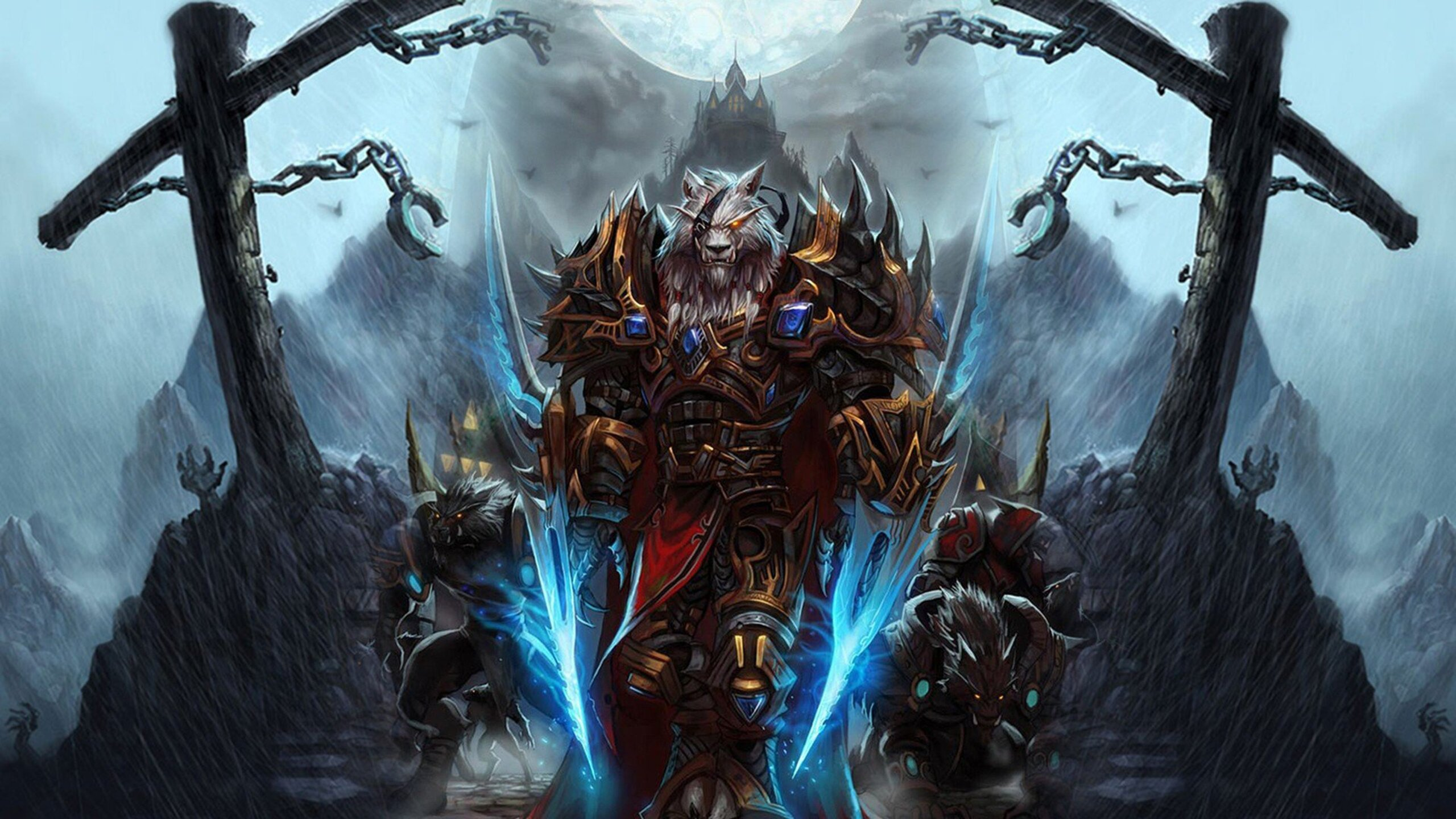 World Of Warcraft 4k Wallpaper: 2560x1440 World Of Warcraft Worgen Character 1440P