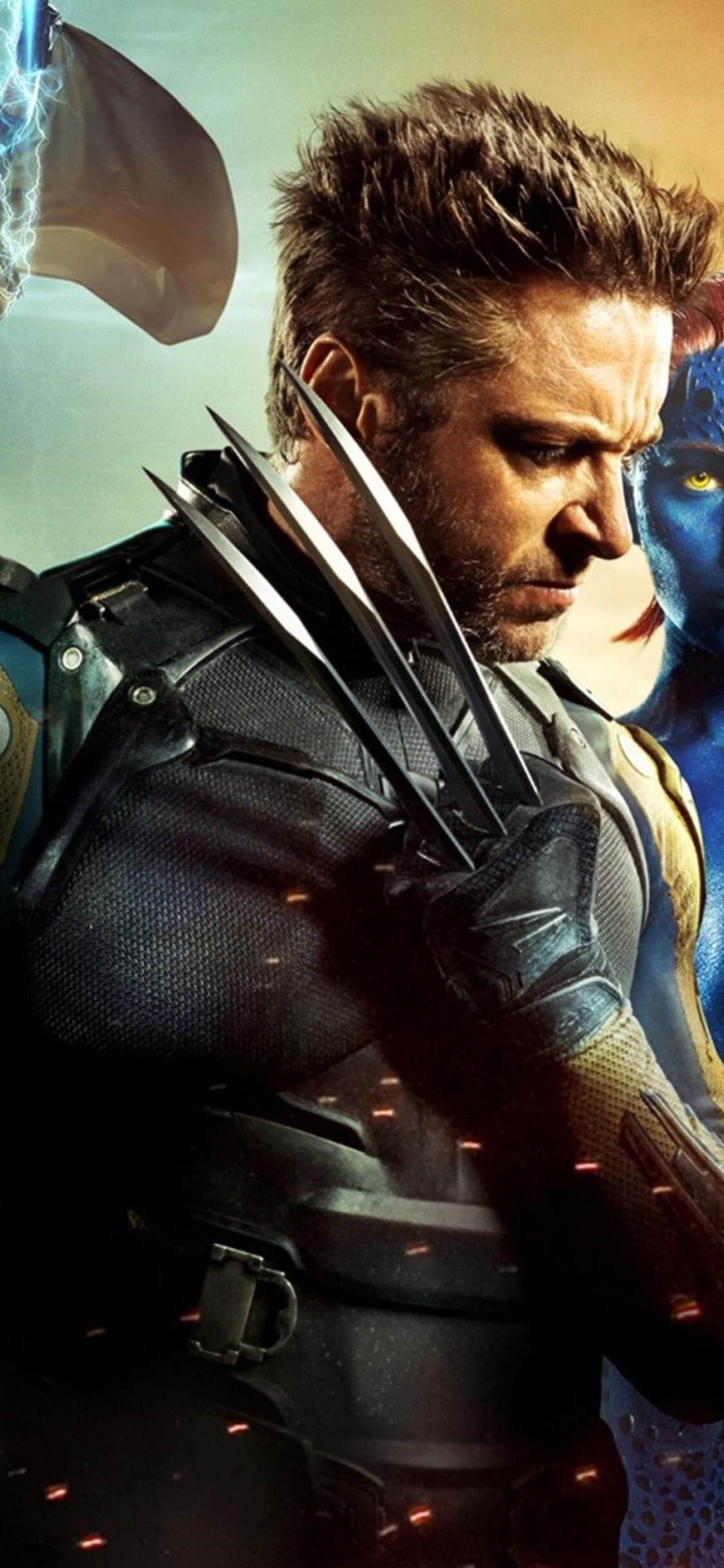 1125x2436 X Men Days Of Future Past Poster Iphone Xs Iphone 10