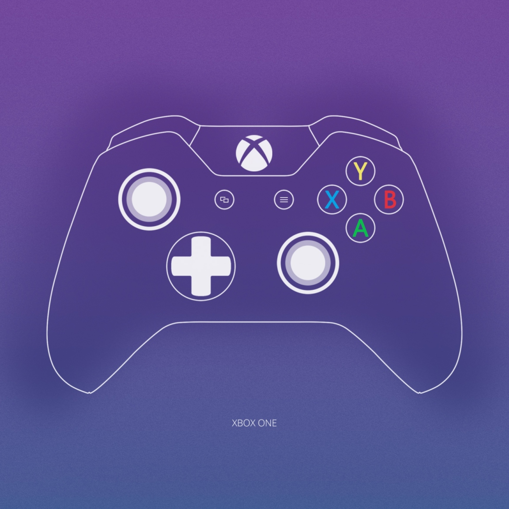 2048x2048 Xbox One Controller Minimalism Ipad Air Hd 4k Wallpapers Images Backgrounds Photos And Pictures