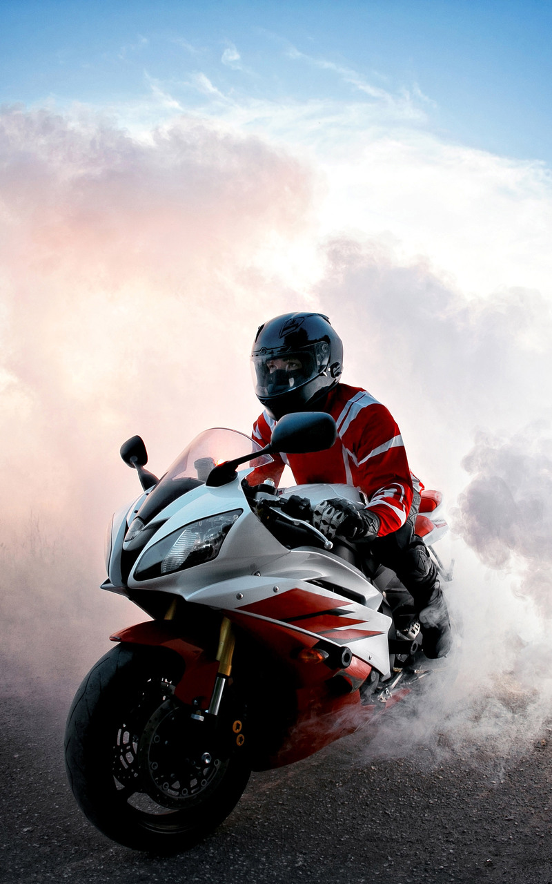 800x1280 Yamaha R6 Smoke Nexus 7,Samsung Galaxy Tab 10,Note