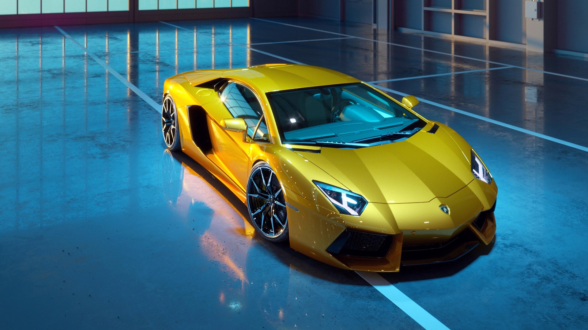 1920x1080 Yellow Lamborghini Aventador New Laptop Full Hd 1080p Hd 4k Wallpapers Images Backgrounds Photos And Pictures