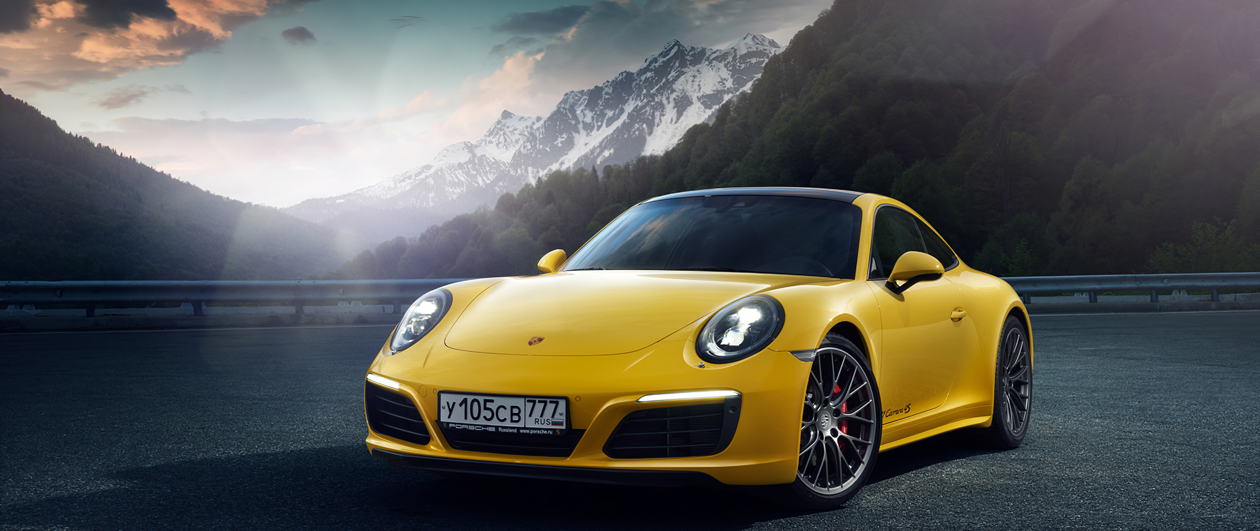 2560x1080 Yellow Porsche 918 2560x1080 Resolution Hd 4k Wallpapers Images Backgrounds Photos And Pictures