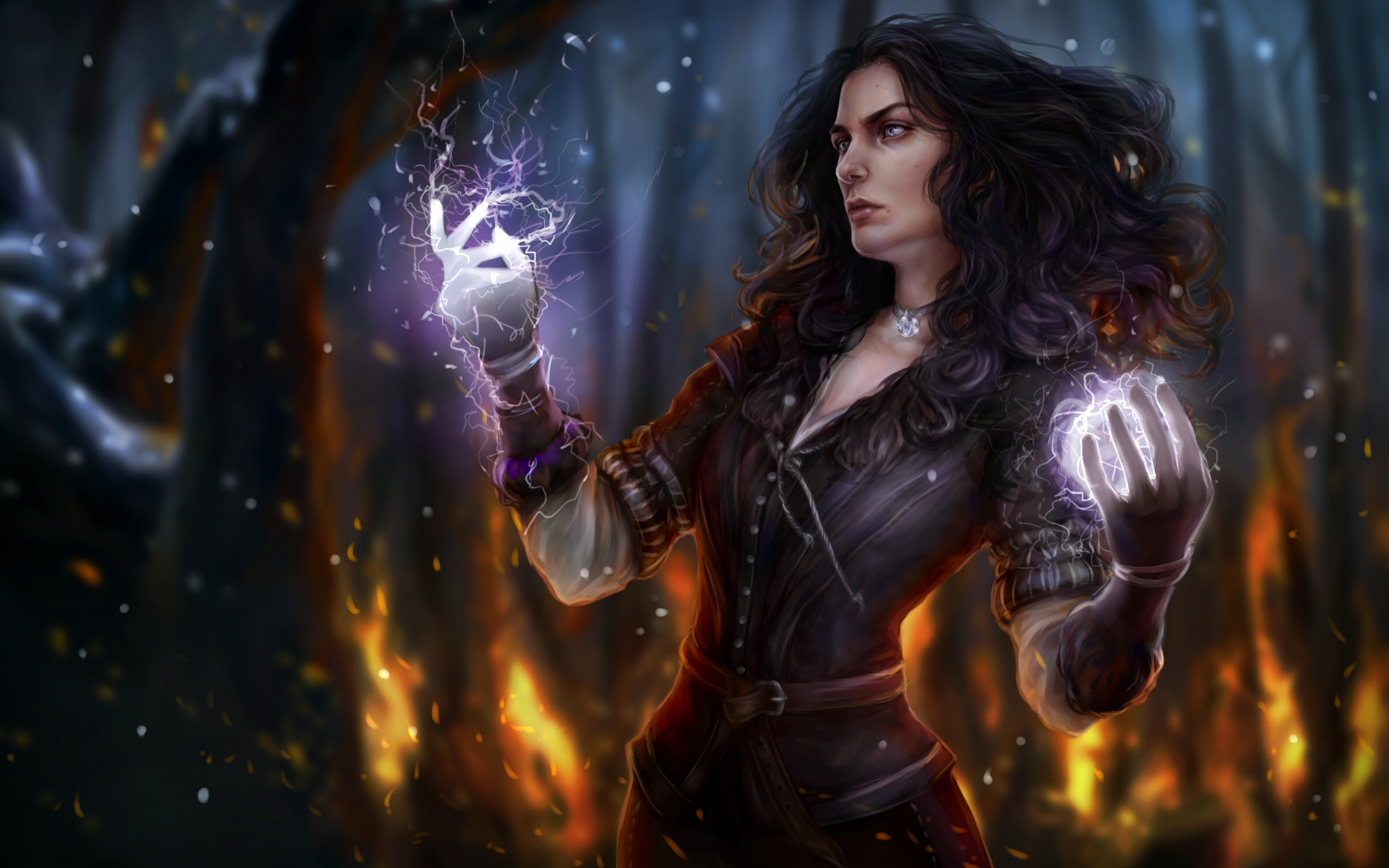 3840x2400 Yennefer 4k Hd 4k Wallpapers Images Backgrounds Photos And Pictures
