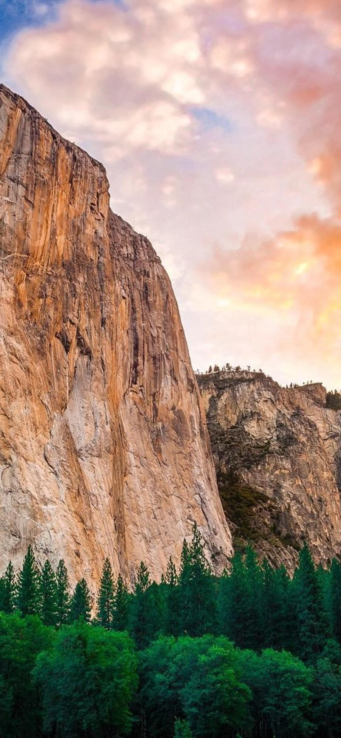 1125x2436 Yosemite Mountains Iphone Xs Iphone 10 Iphone X Hd
