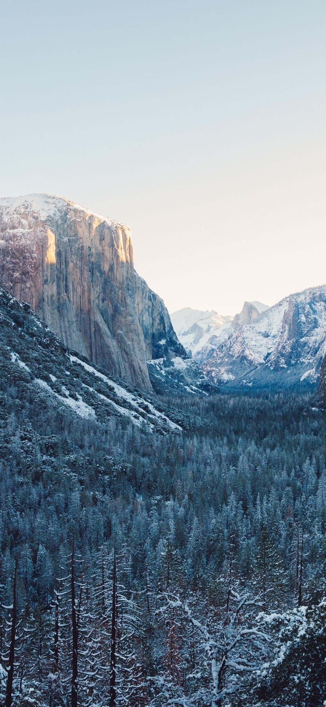 1125x2436 Yosemite Winter 4k Iphone Xs Iphone 10 Iphone X Hd