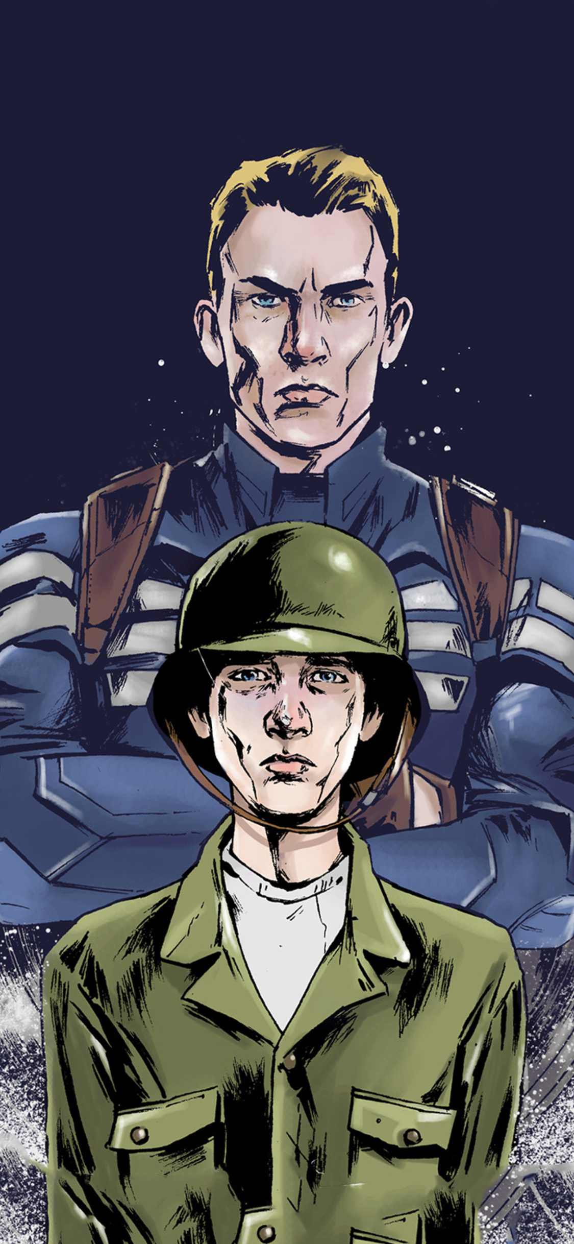 Young And Old Steve Rogers Artwork Hc
