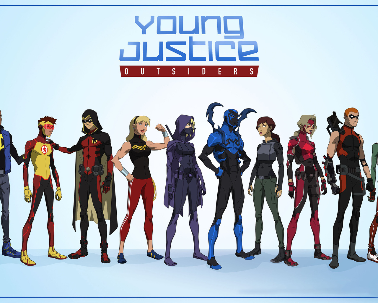 Young Justice Outsiders 2017 H5