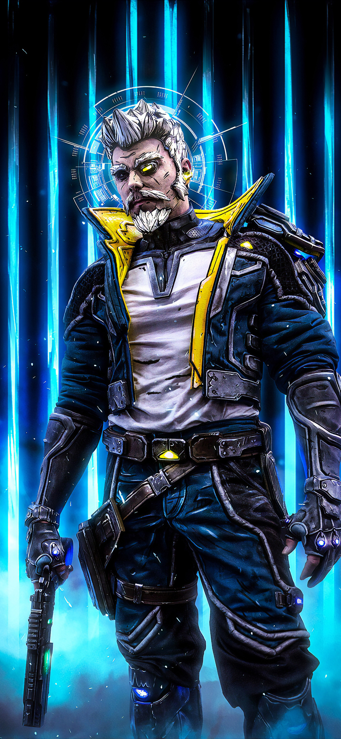 1125x2436 Zane Flynt Borderlands 3 Iphone Xs Iphone 10