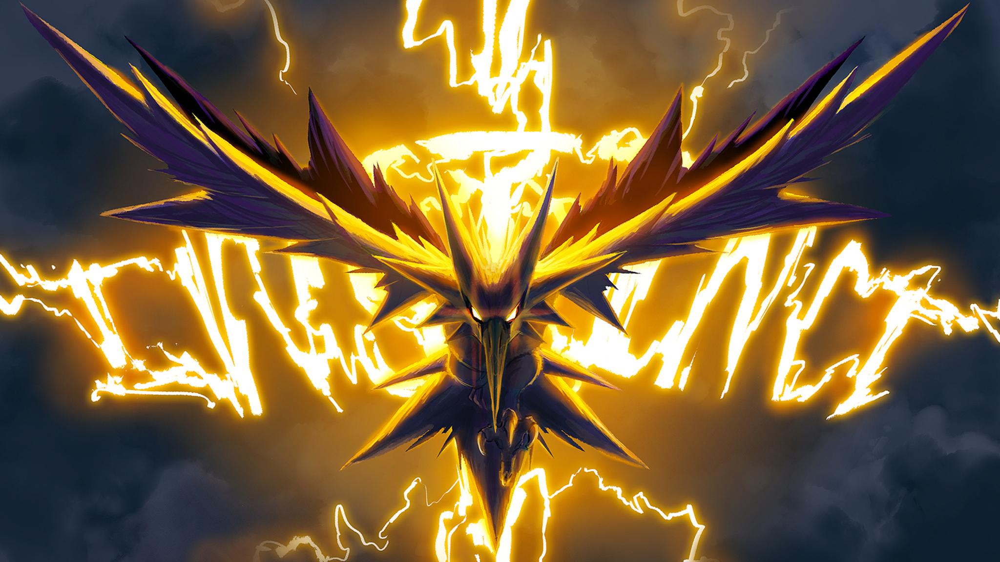 2048x1152 Zapdos Pokemon Go Art 2048x1152 Resolution Hd 4k