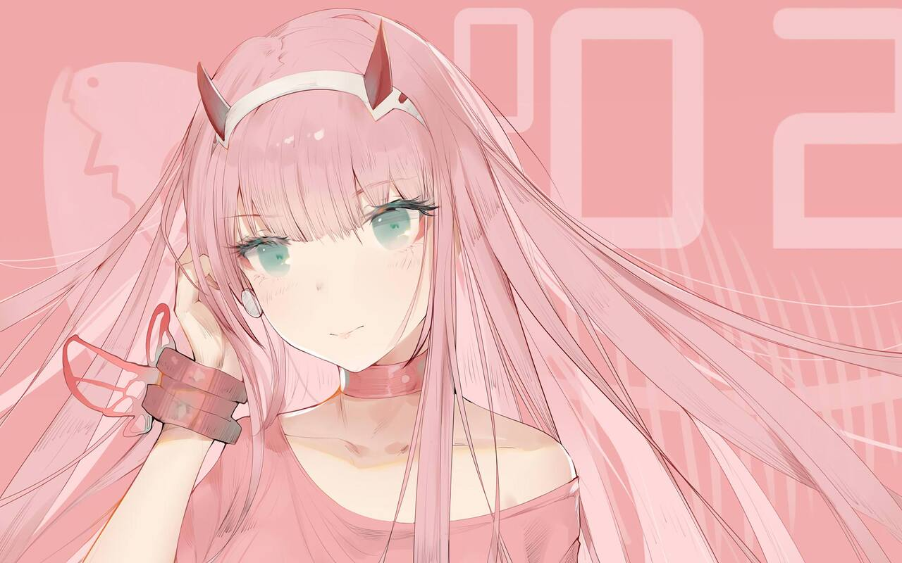 1280x800 Zero Two Darling In The Franxx 4k 720p Hd 4k Wallpapers Images Backgrounds Photos And Pictures