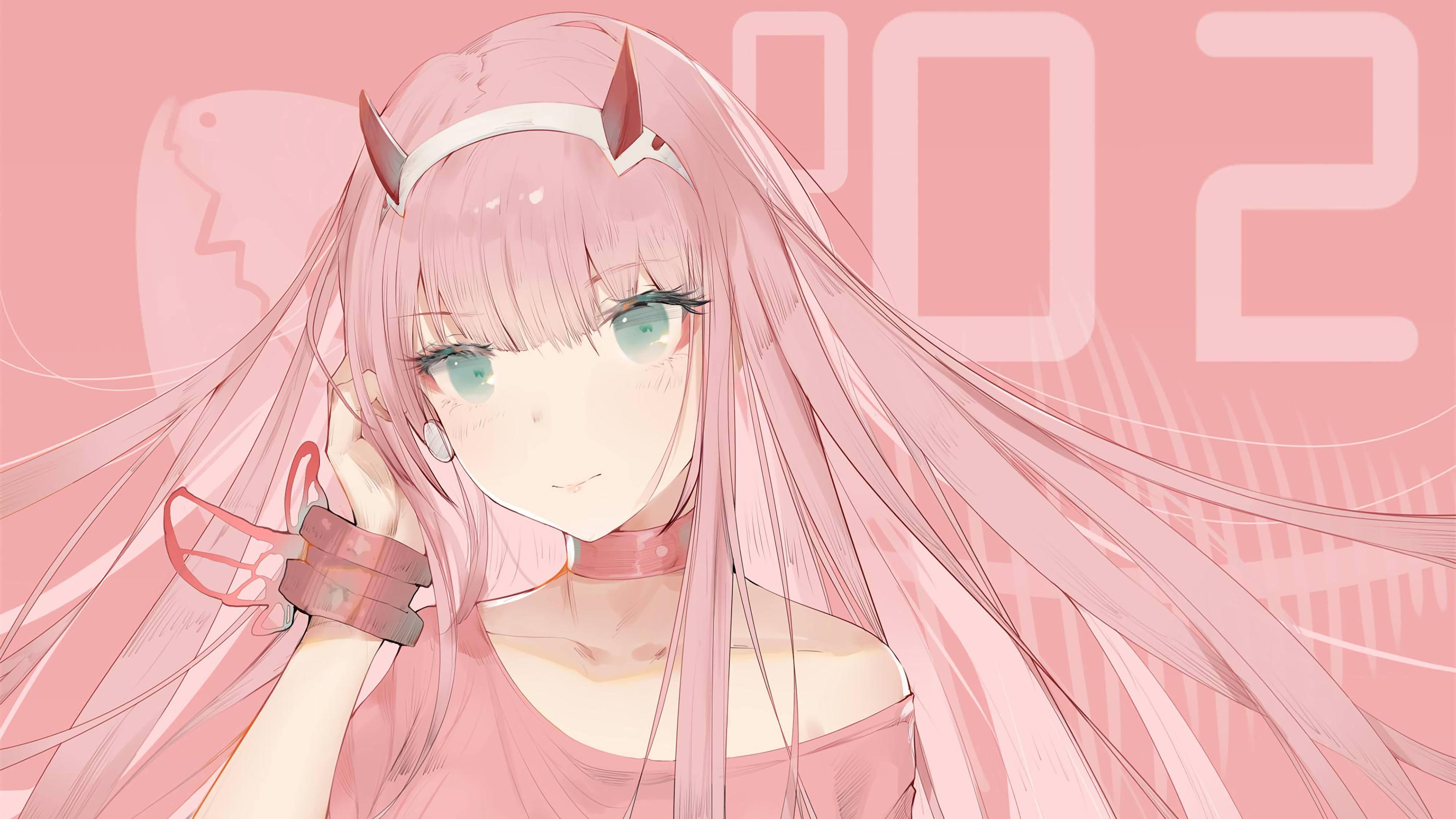 12+ Best For Zero Two Cute Wallpaper Hd - Lee Dii