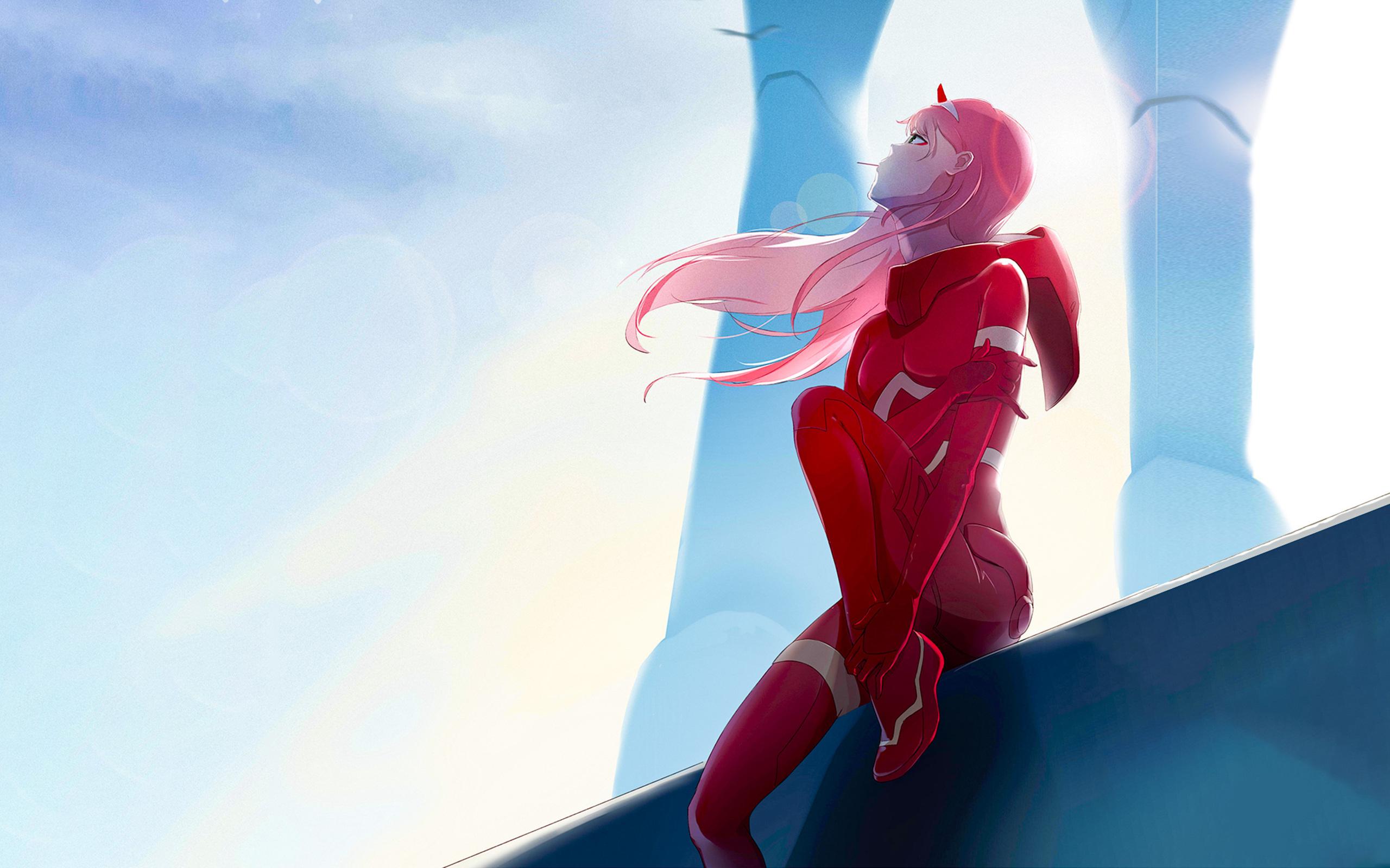 2560x1600 Zero Two Darling In The Franxx Anime 2560x1600