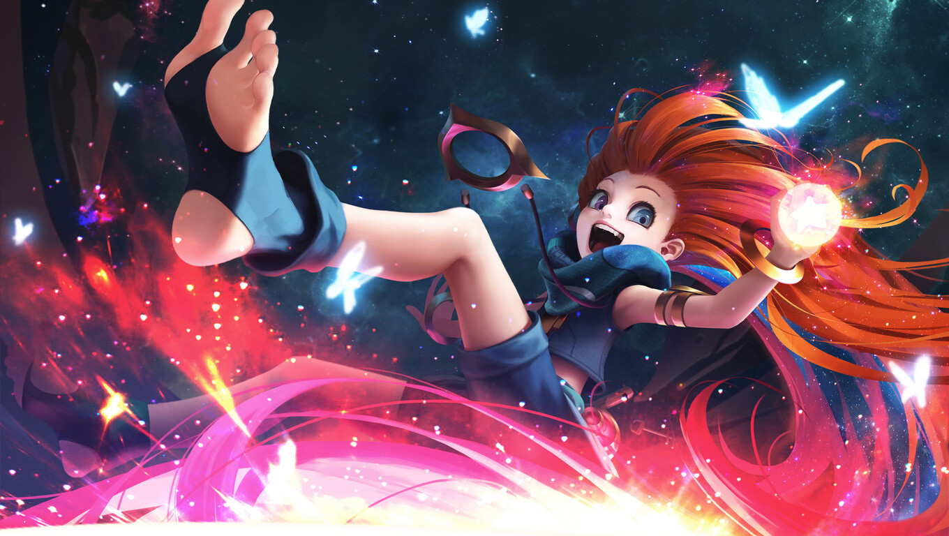 1360x768 Zoe League Of Legends Hd Laptop Hd Hd 4k Wallpapers Images