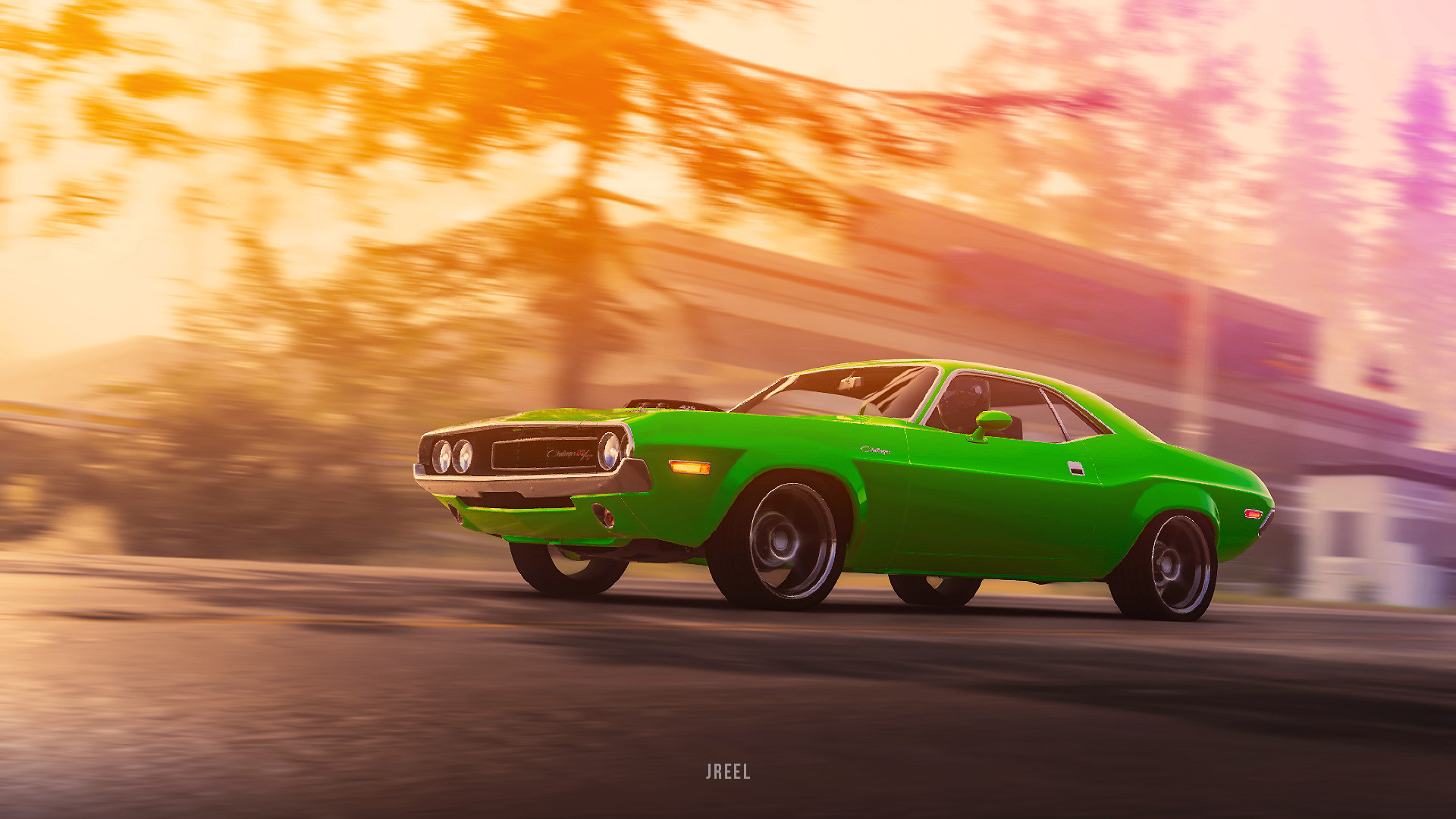 1970 dodge challenger rt from the crew 2 front