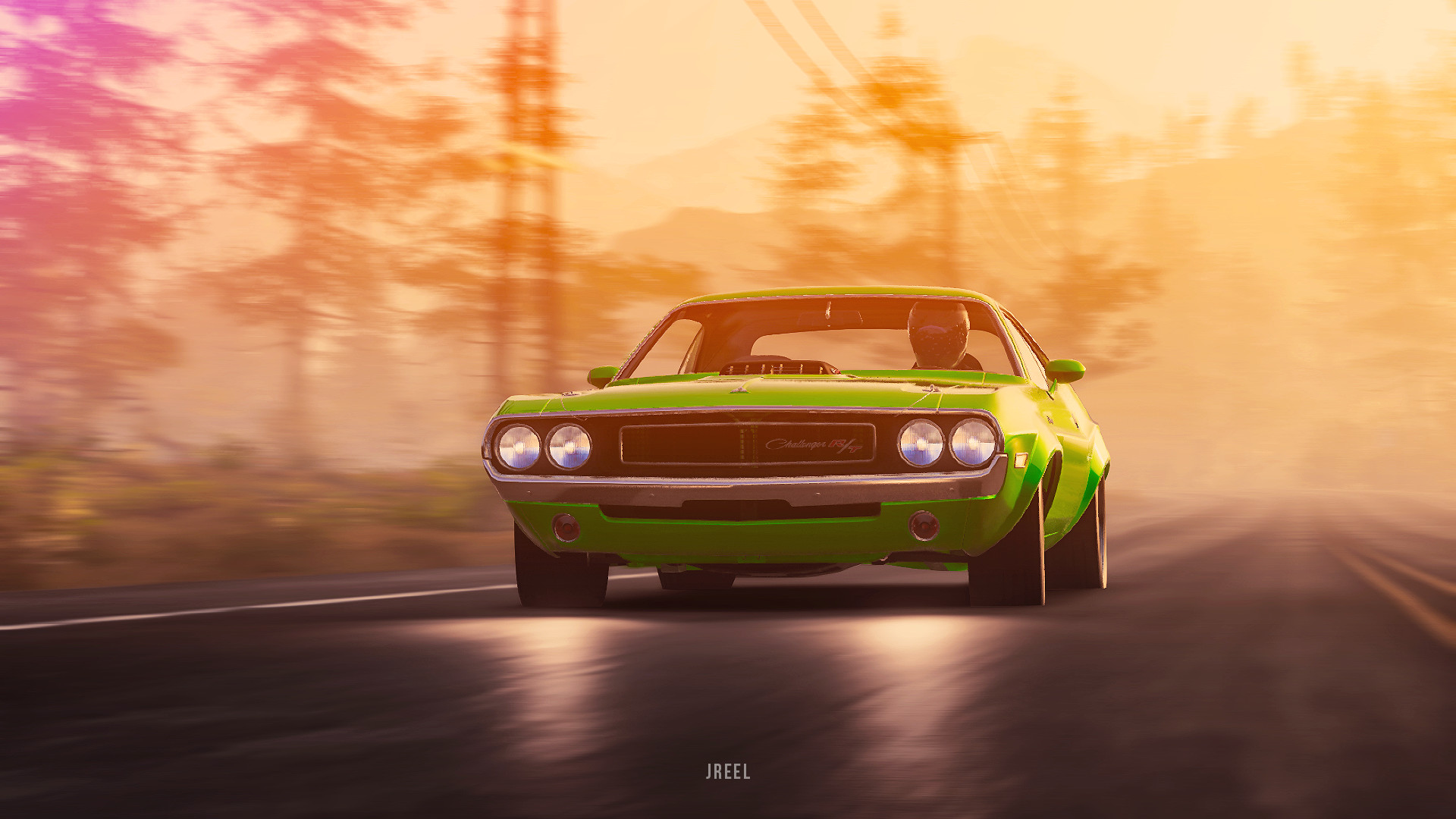 1970 dodge challenger rt from the crew 2 yf