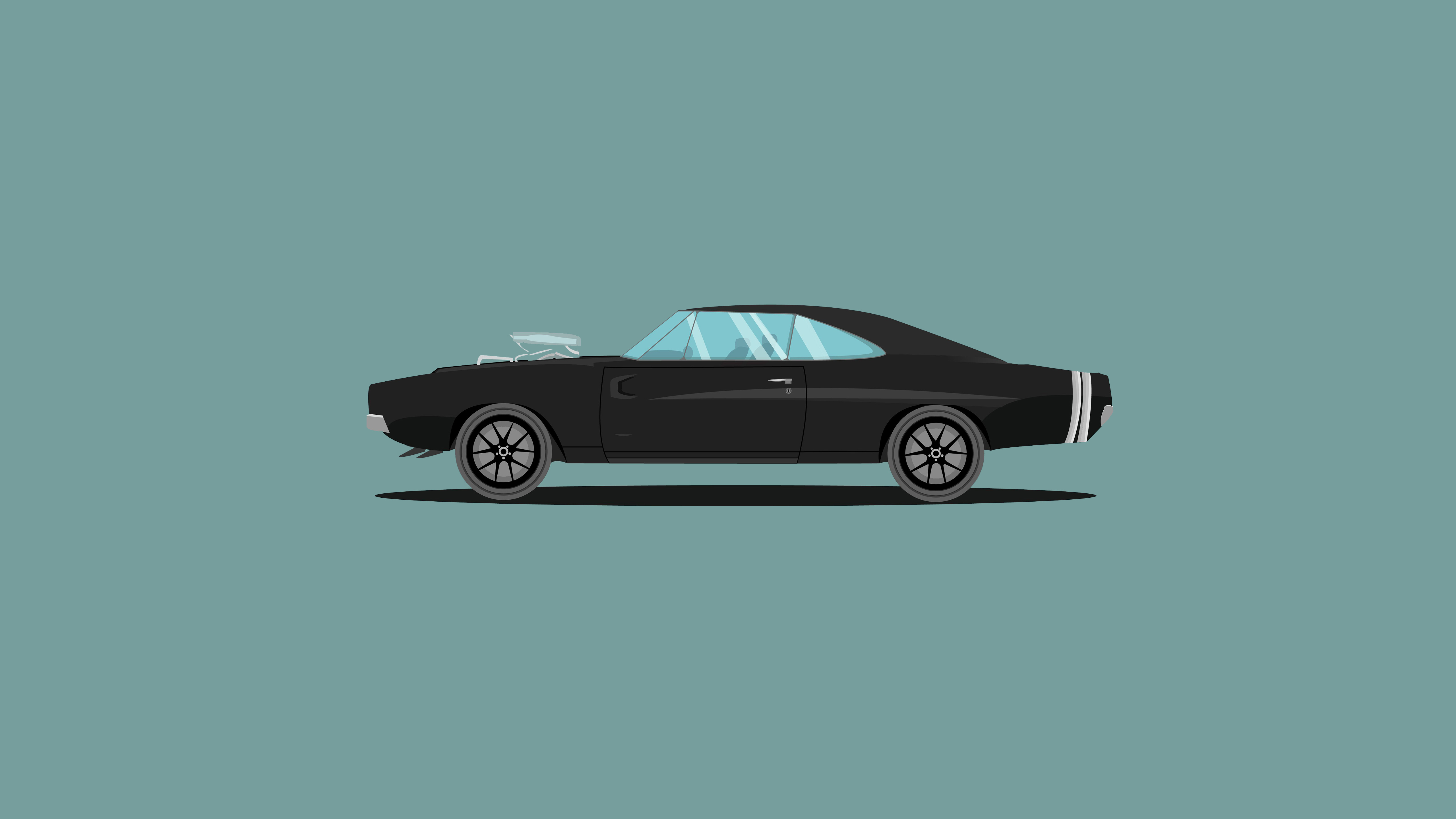 2560x1080 1970 Dodge Charger Fast And Furious Edition Illustration 2560x1080 Resolution Hd 4k Wallpapers Images Backgrounds Photos And Pictures